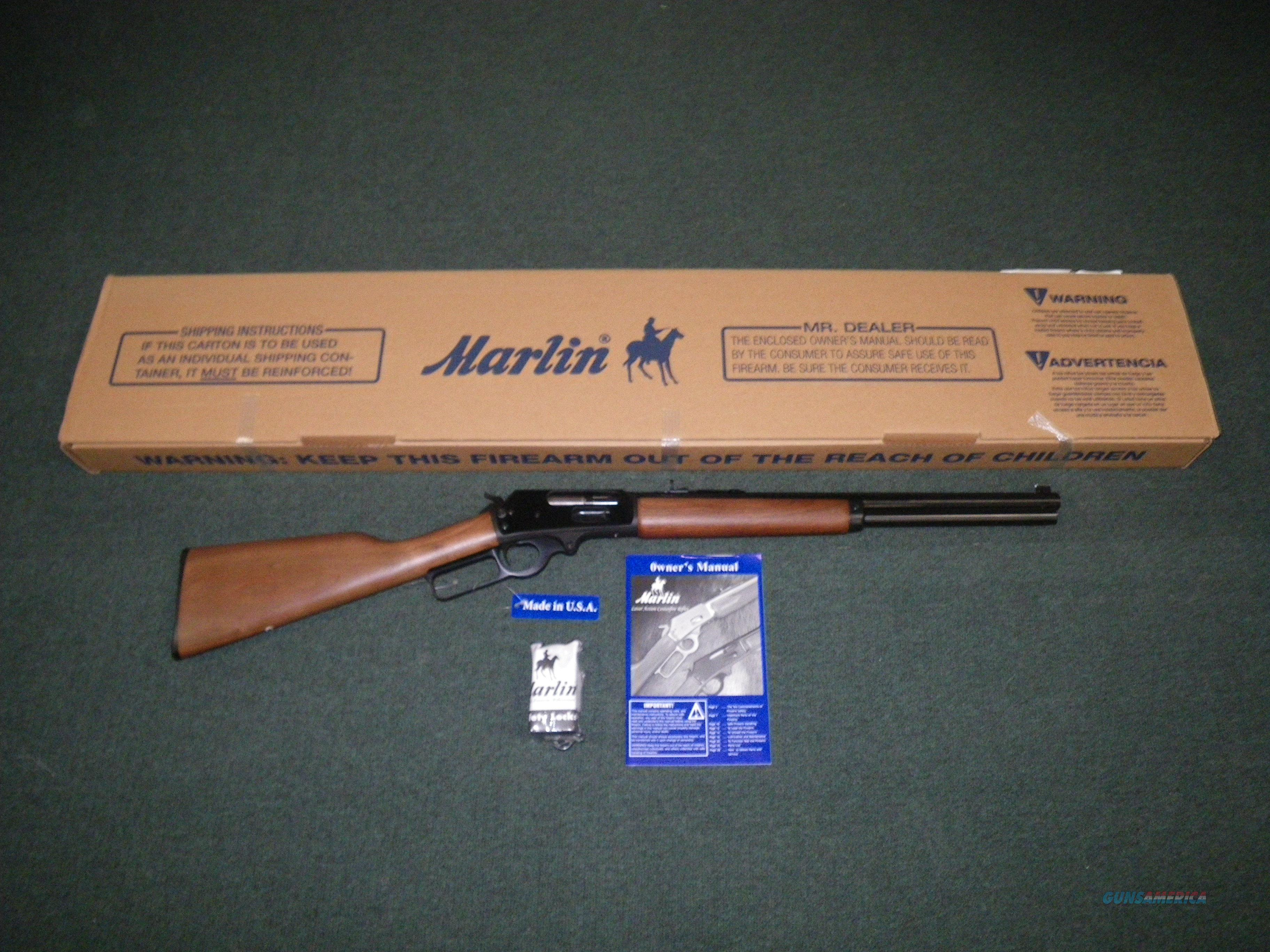 "Marlin 1895CBA Lever 45-70 Govt 18"" Octagon NEW #70458  Guns > Rifles > Marlin Rifles > Modern > Lever Action"