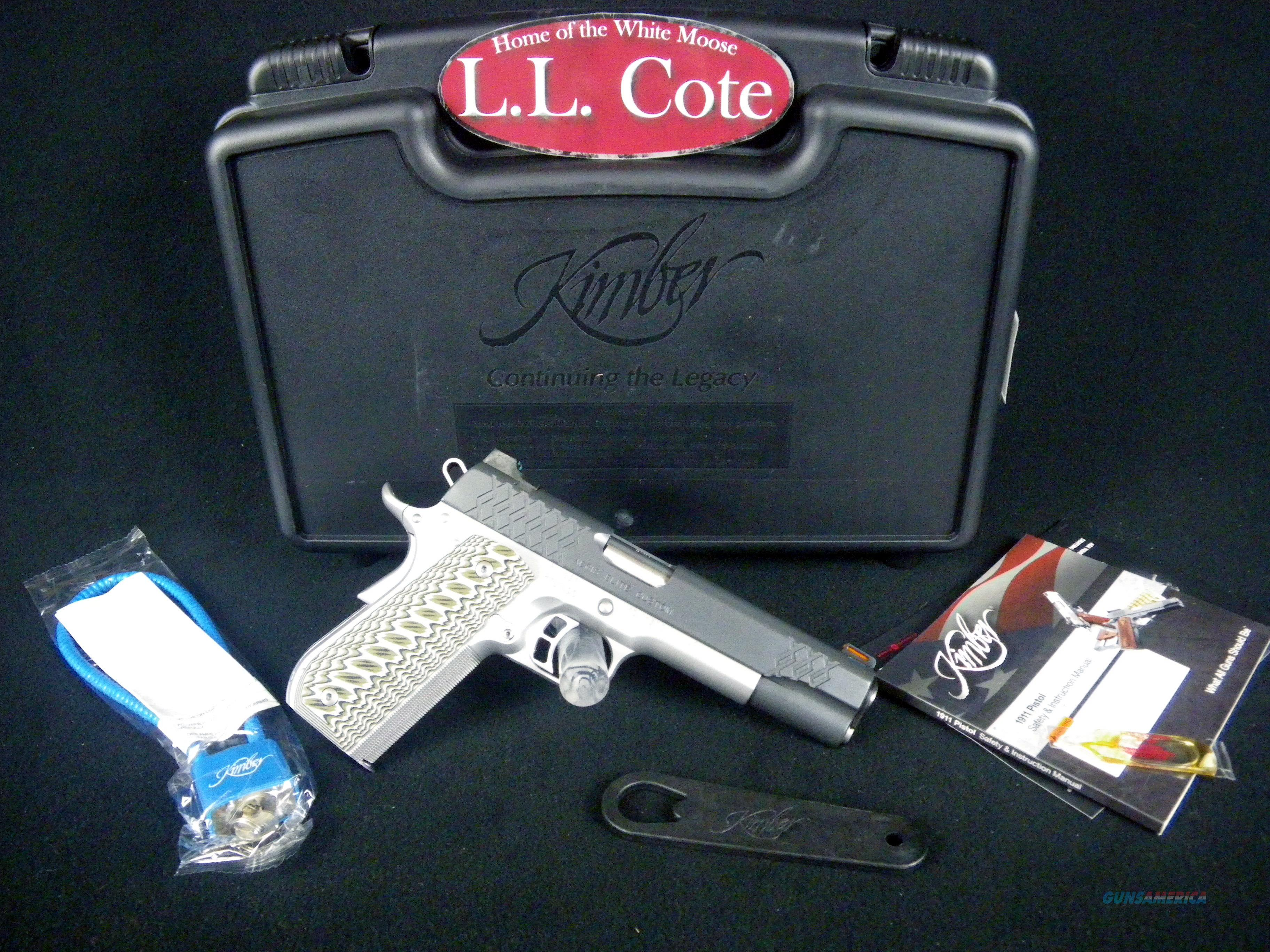 "Kimber Aegis Elite Custom 9mm 5"" NEW #3000350  Guns > Pistols > Kimber of America Pistols > 1911"