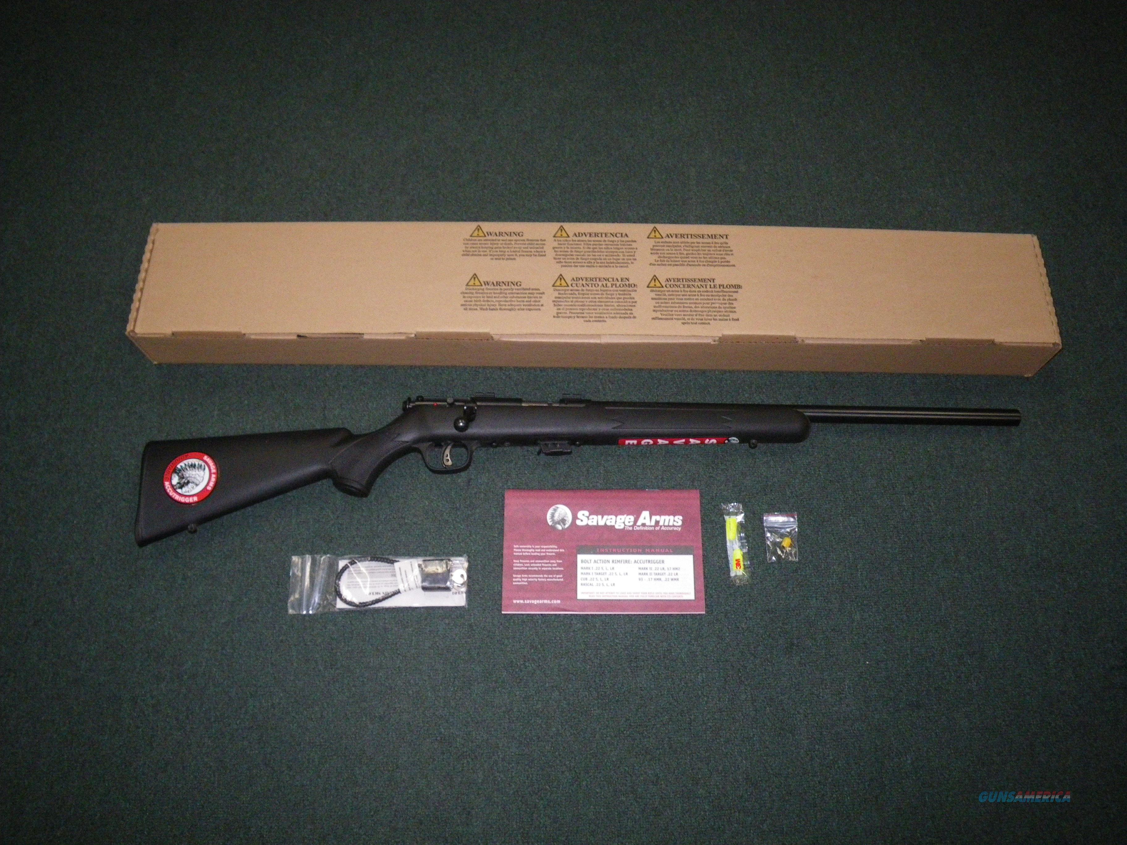 "Savage Mark II FV 17HM2 21"" Heavy NEW Accutrigger #26724  Guns > Rifles > Savage Rifles > Accutrigger Models > Sporting"