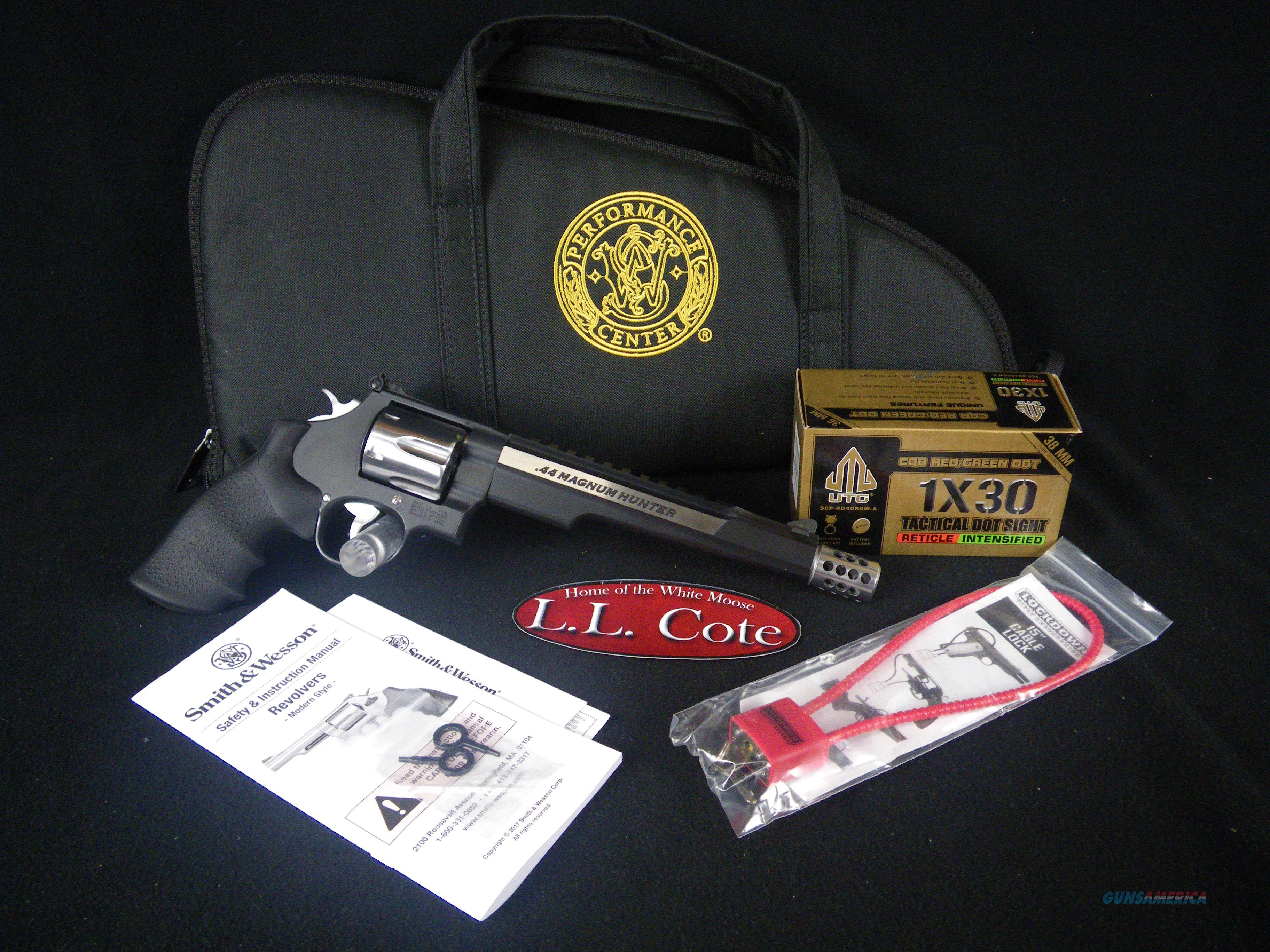 "Smith & Wesson Perf Ctr 629 44mag Hunter 7.5"" NEW 170318  Guns > Pistols > Smith & Wesson Revolvers > Performance Center"