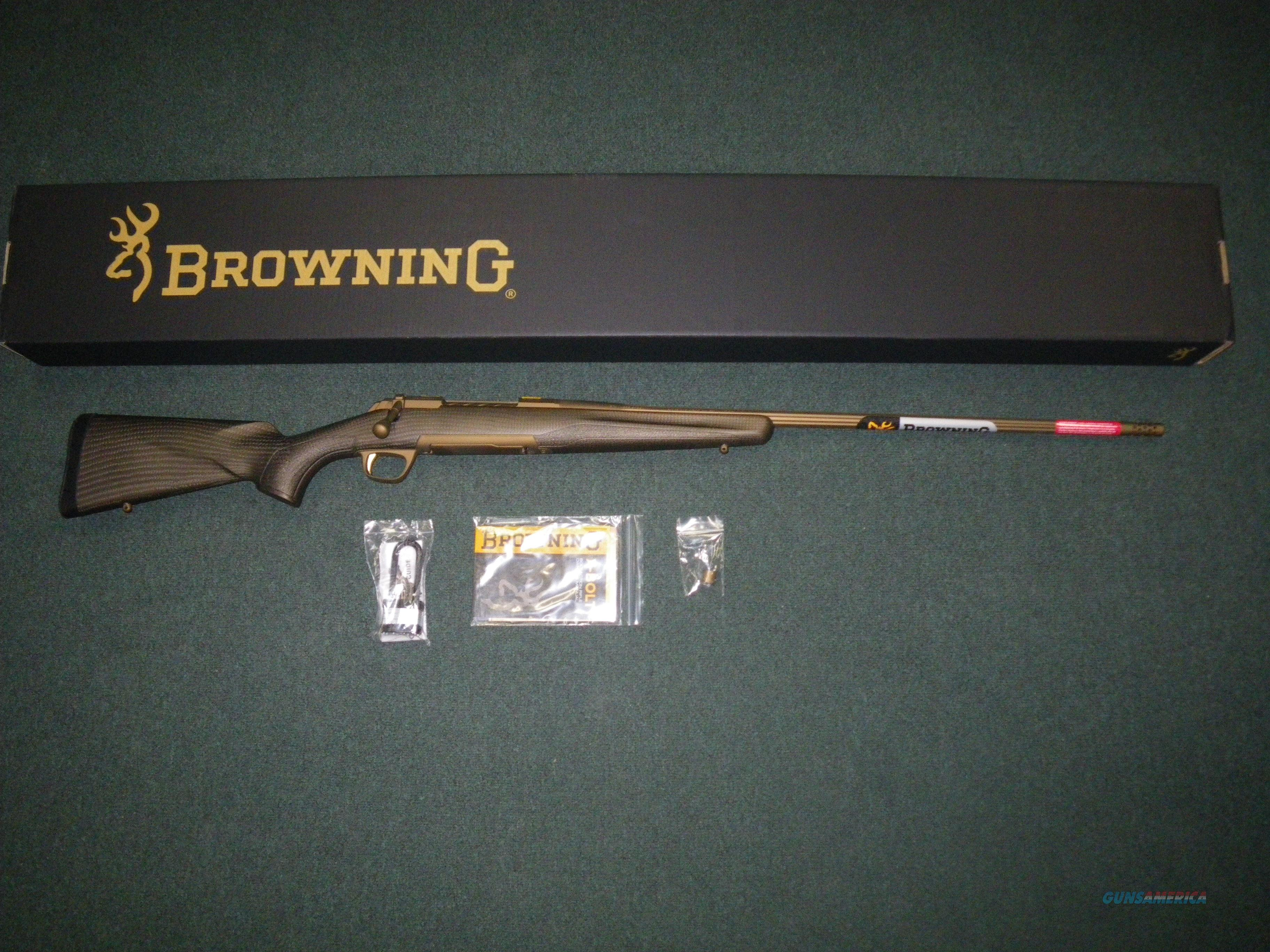 "Browning X-Bolt Pro 6mm Creed 22"" Carbon Fbr NEW #035418291  Guns > Rifles > Browning Rifles > Bolt Action > Hunting > Blue"