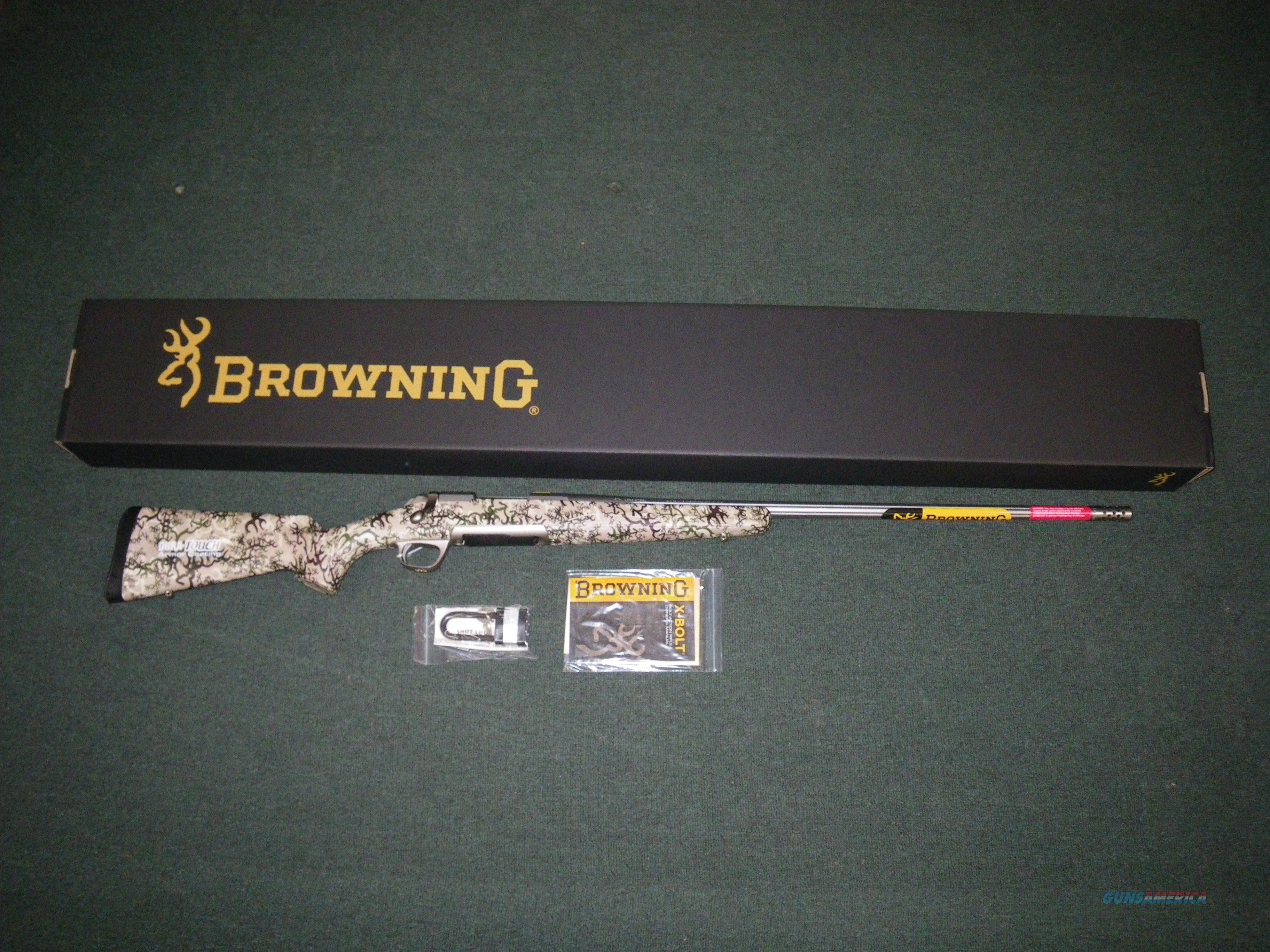 "Browning X-Bolt Long Range Hunter 300 WSM 26"" #035362246  Guns > Rifles > Browning Rifles > Bolt Action > Hunting > Stainless"