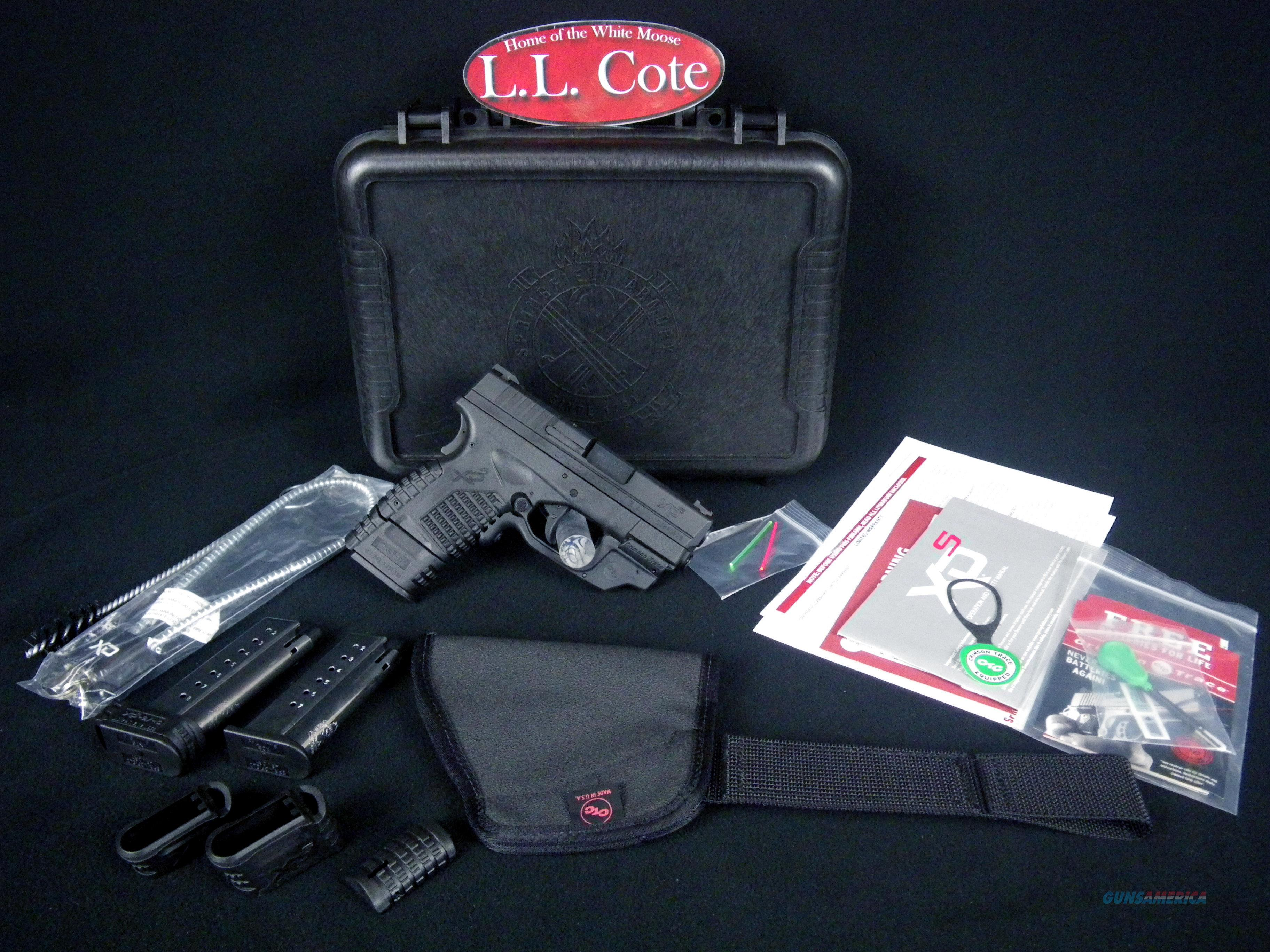 """Springfield XDS 9mm 3.3"""" Green Crimson Trace NEW XDS9339BECTG  Guns > Pistols > Springfield Armory Pistols > XD-S"""
