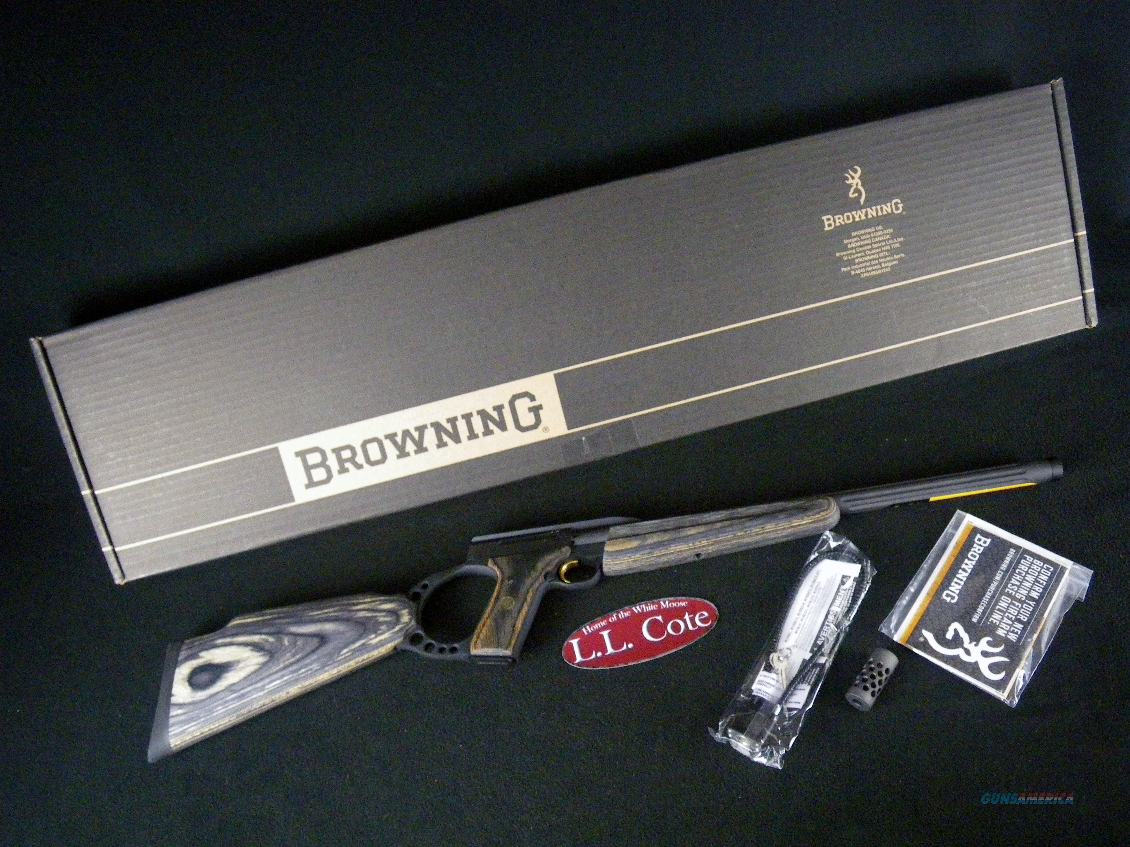 "Browning Buck Mark Target 22lr 18.375"" Threaded NEW 021044202  Guns > Rifles > Browning Rifles > Semi Auto > Hunting"