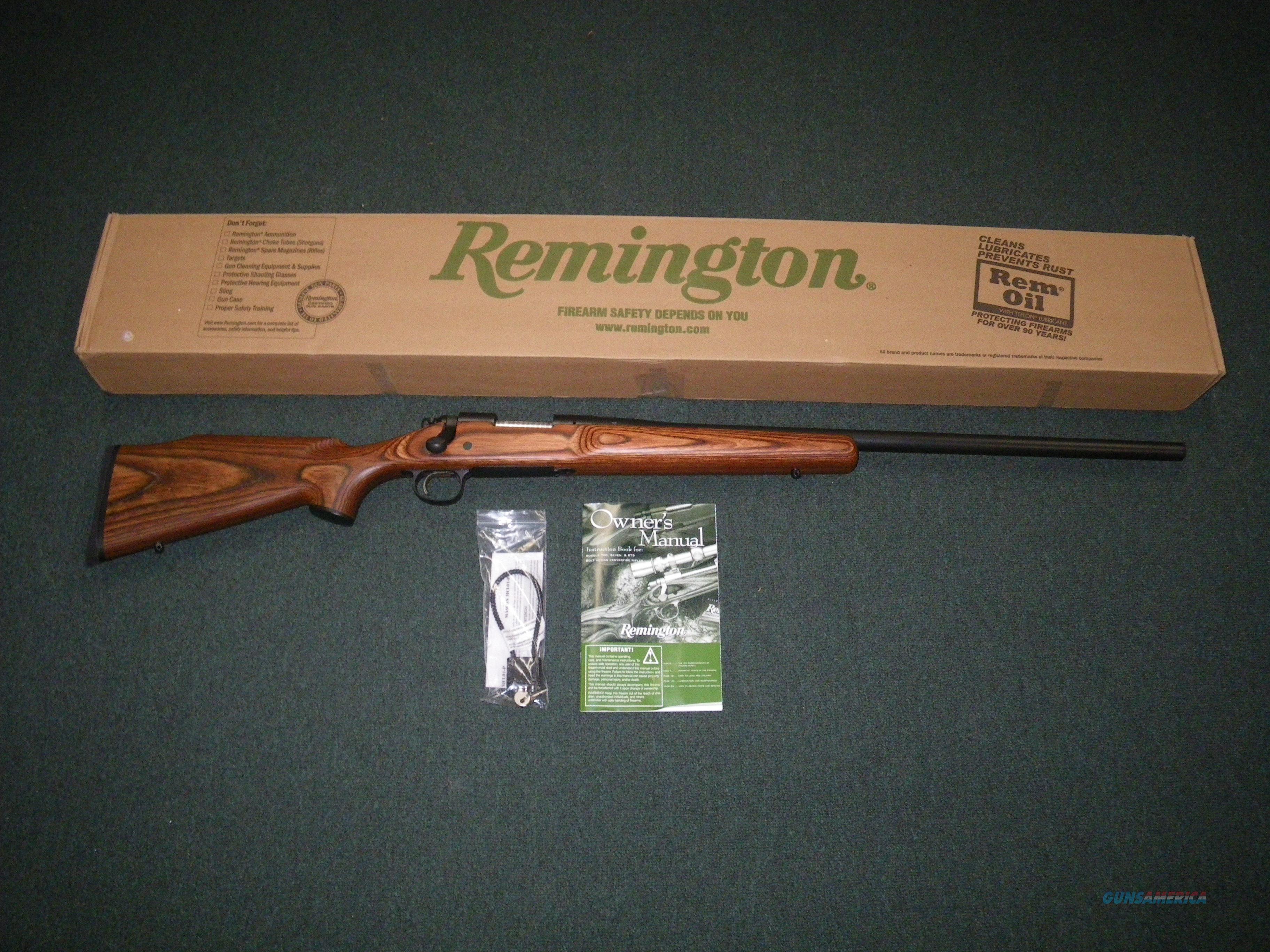 """Remington Model 700 VLS 243 Win 26"""" Bull Barrel NEW #27495  Guns > Rifles > Remington Rifles - Modern > Model 700 > Sporting"""