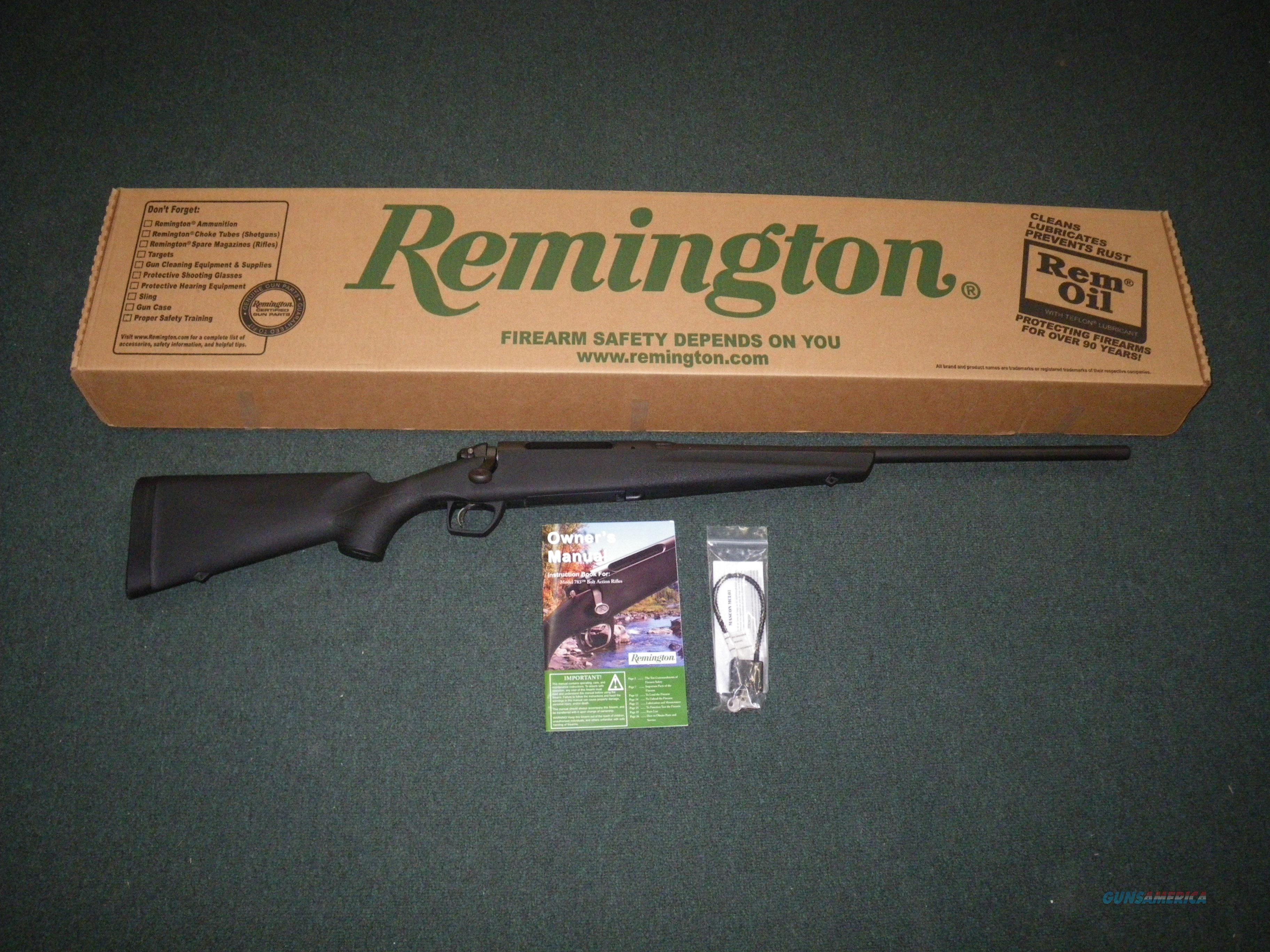 "Remington Model 783 Synthetic 270 Win 22"" NEW #85834  Guns > Rifles > Remington Rifles - Modern > Bolt Action Non-Model 700 > Sporting"