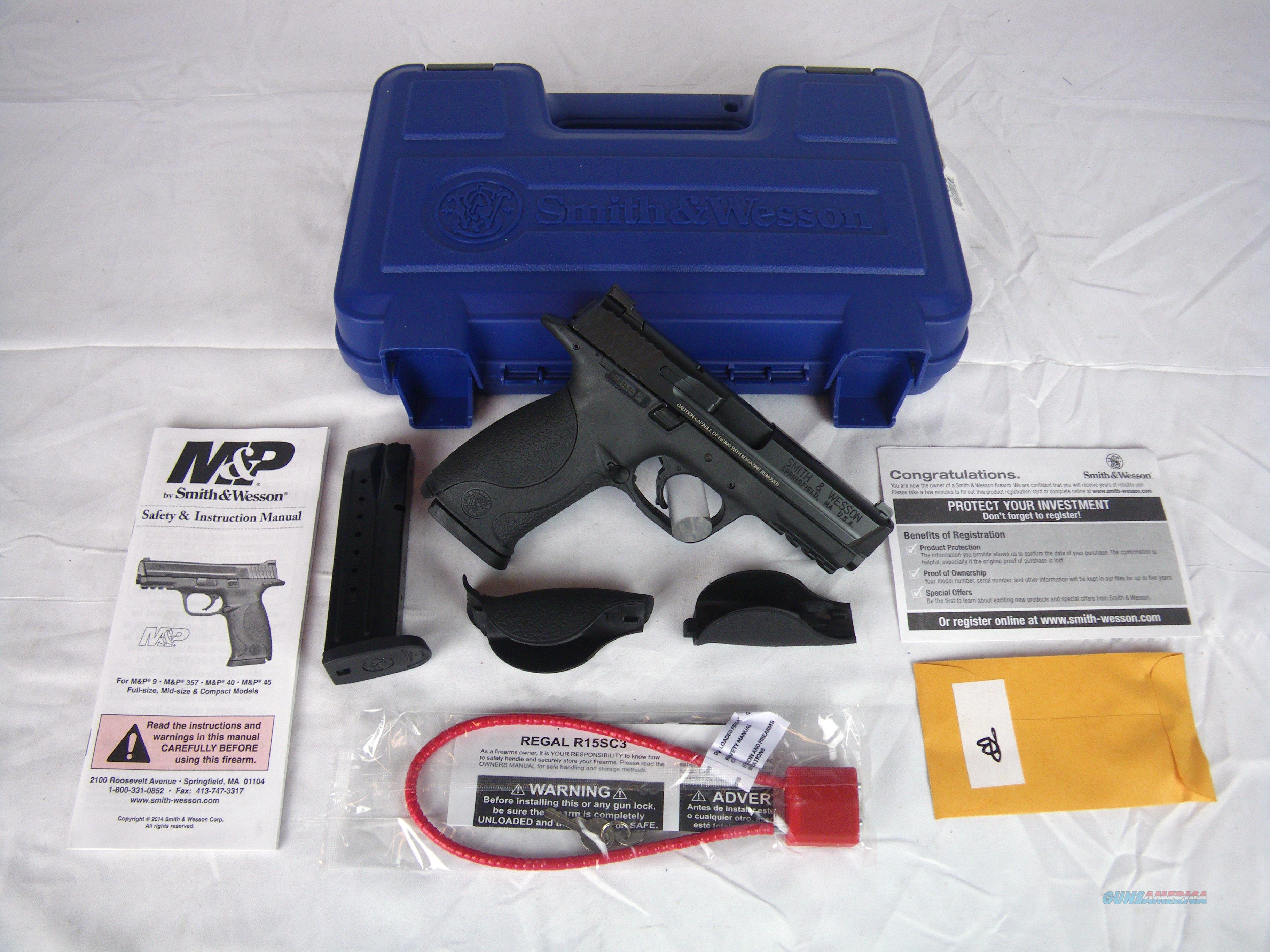 """Smith & Wesson M&P9 9mm 4.25"""" Full Size S&W NEW #209301  Guns > Pistols > Smith & Wesson Pistols - Autos > Polymer Frame"""