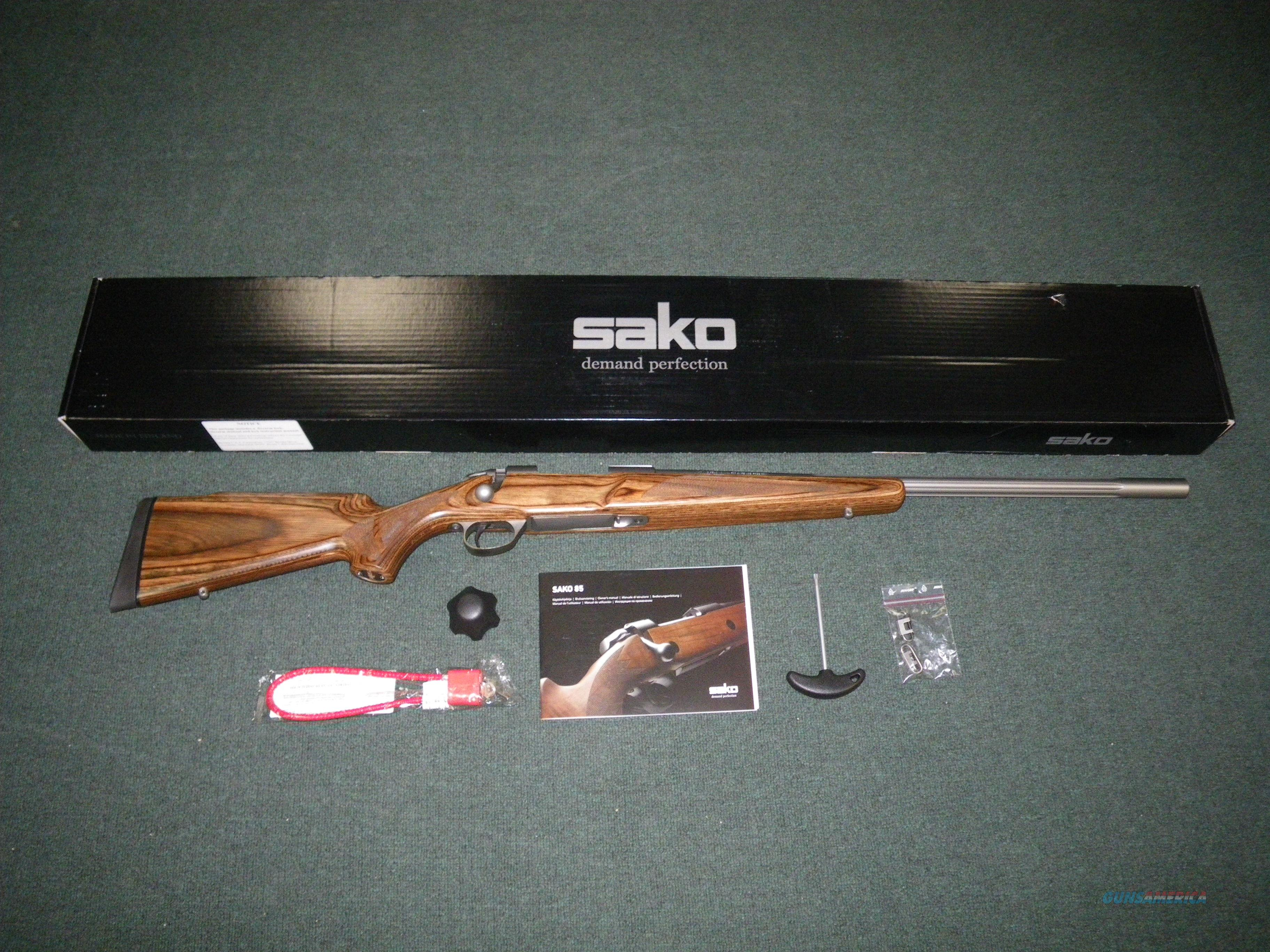 "Sako 85 Varmint Stainless 22-250 23.6"" Fluted NEW #JRS1G14  Guns > Rifles > Sako Rifles > M85 Series"