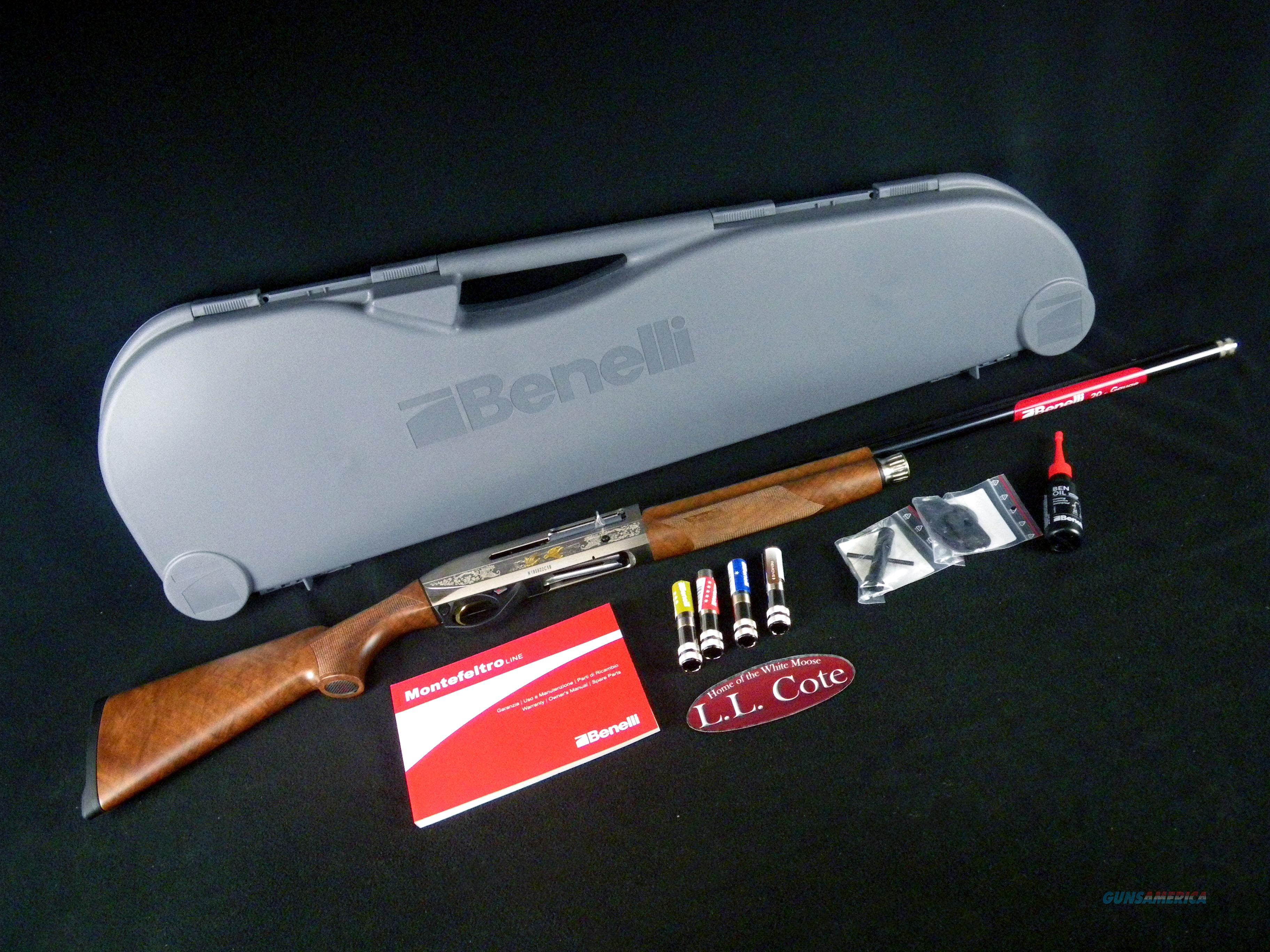 """Benelli Montefeltro Silver Fwt 12ga 26"""" NEW 3"""" 10818  Guns > Shotguns > Benelli Shotguns > Sporting"""