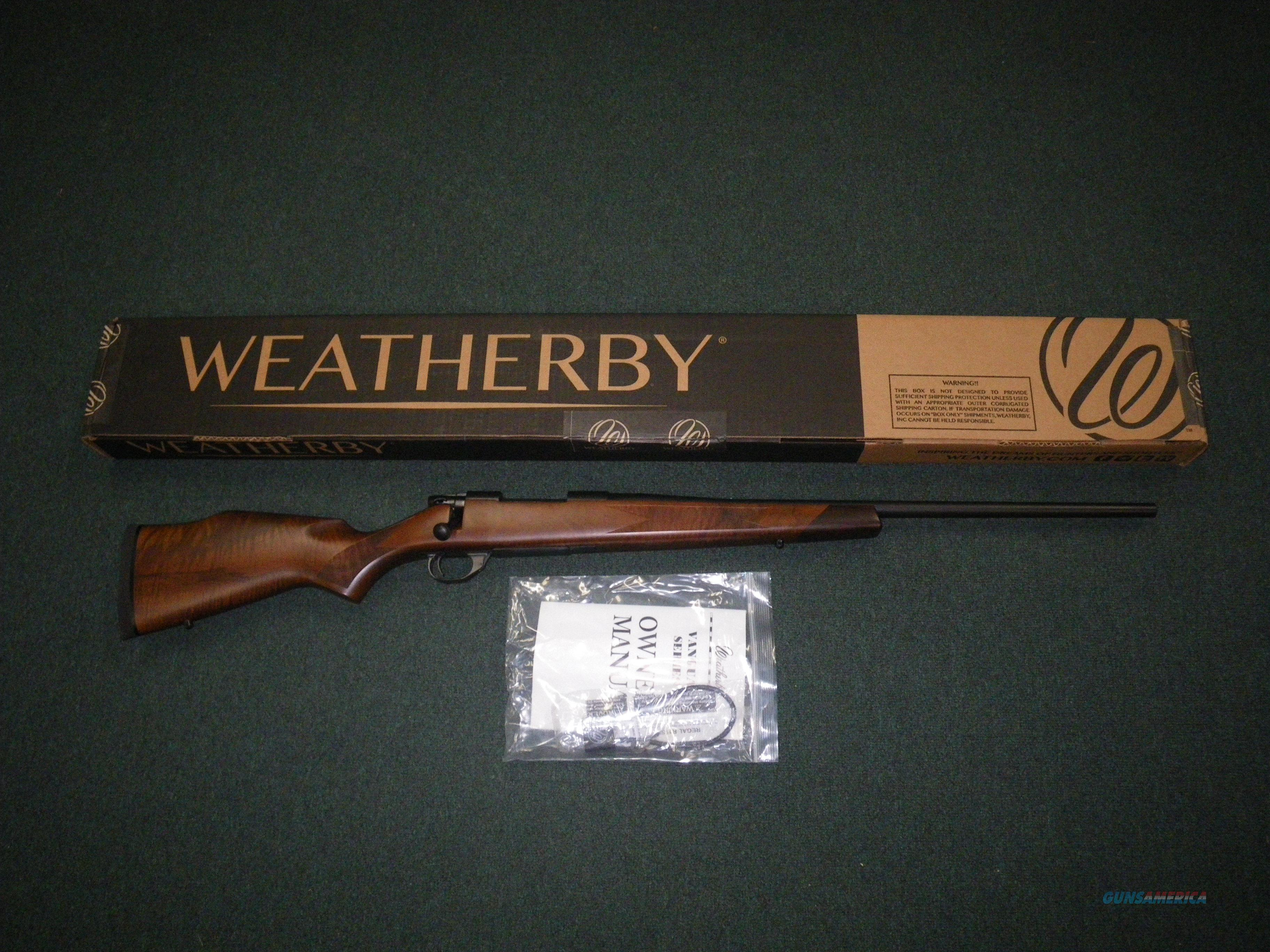 "Weatherby Vanguard Sporter 270 Win 24"" NEW Walnut VDT270NR4O  Guns > Rifles > Weatherby Rifles > Sporting"