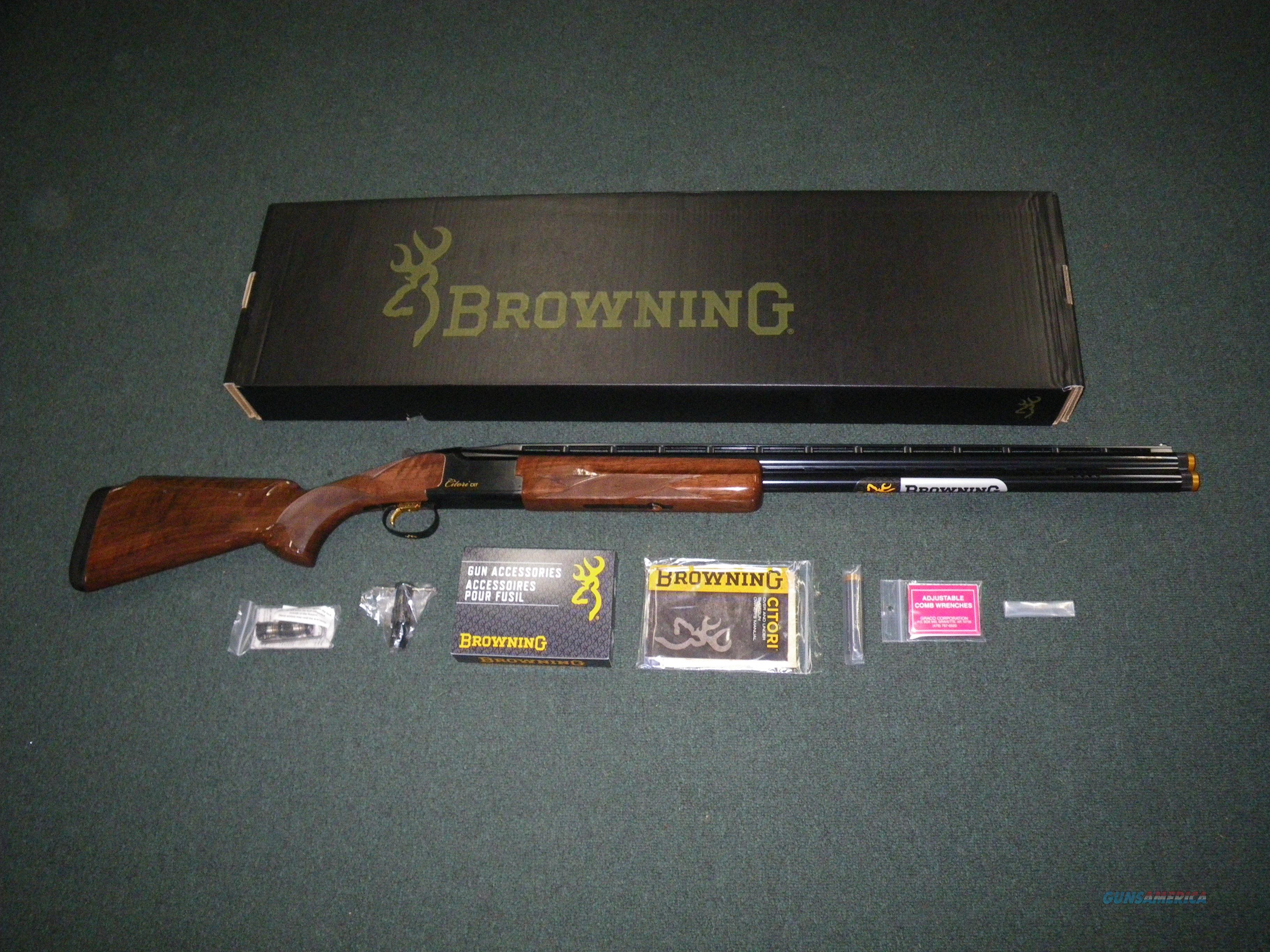 "Browning Citori CXT Adjustable Comb 12ga 32"" NEW 018075327  Guns > Shotguns > Browning Shotguns > Over Unders > Citori > Hunting"