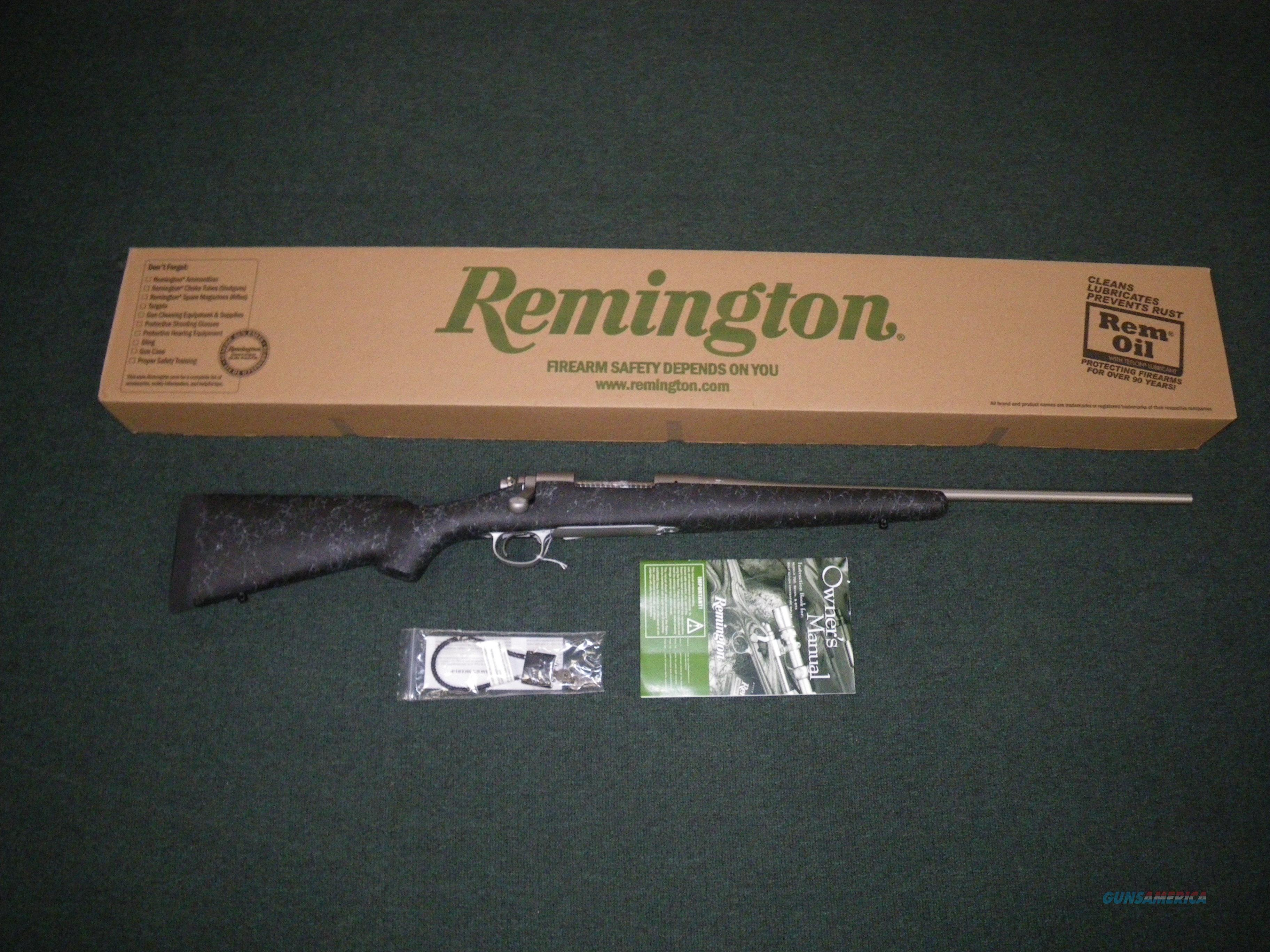 "Remington 700 Mountain Stainless 7mm-08 Rem 22"" #84276  Guns > Rifles > Remington Rifles - Modern > Model 700 > Sporting"