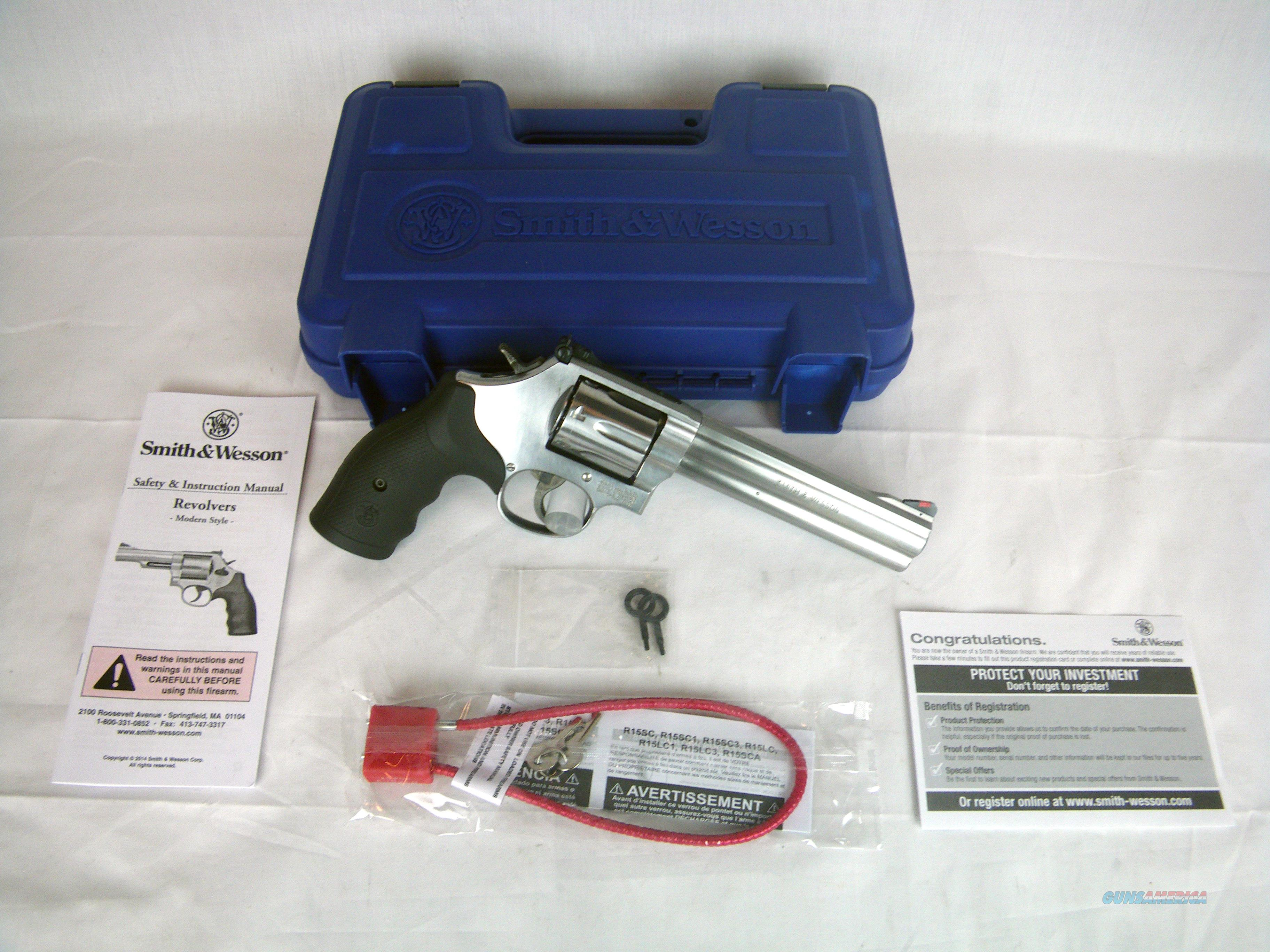 """Smith & Wesson Model 686 Plus SS 357 Mag 6"""" NEW #164198  Guns > Pistols > Smith & Wesson Revolvers > Med. Frame ( K/L )"""