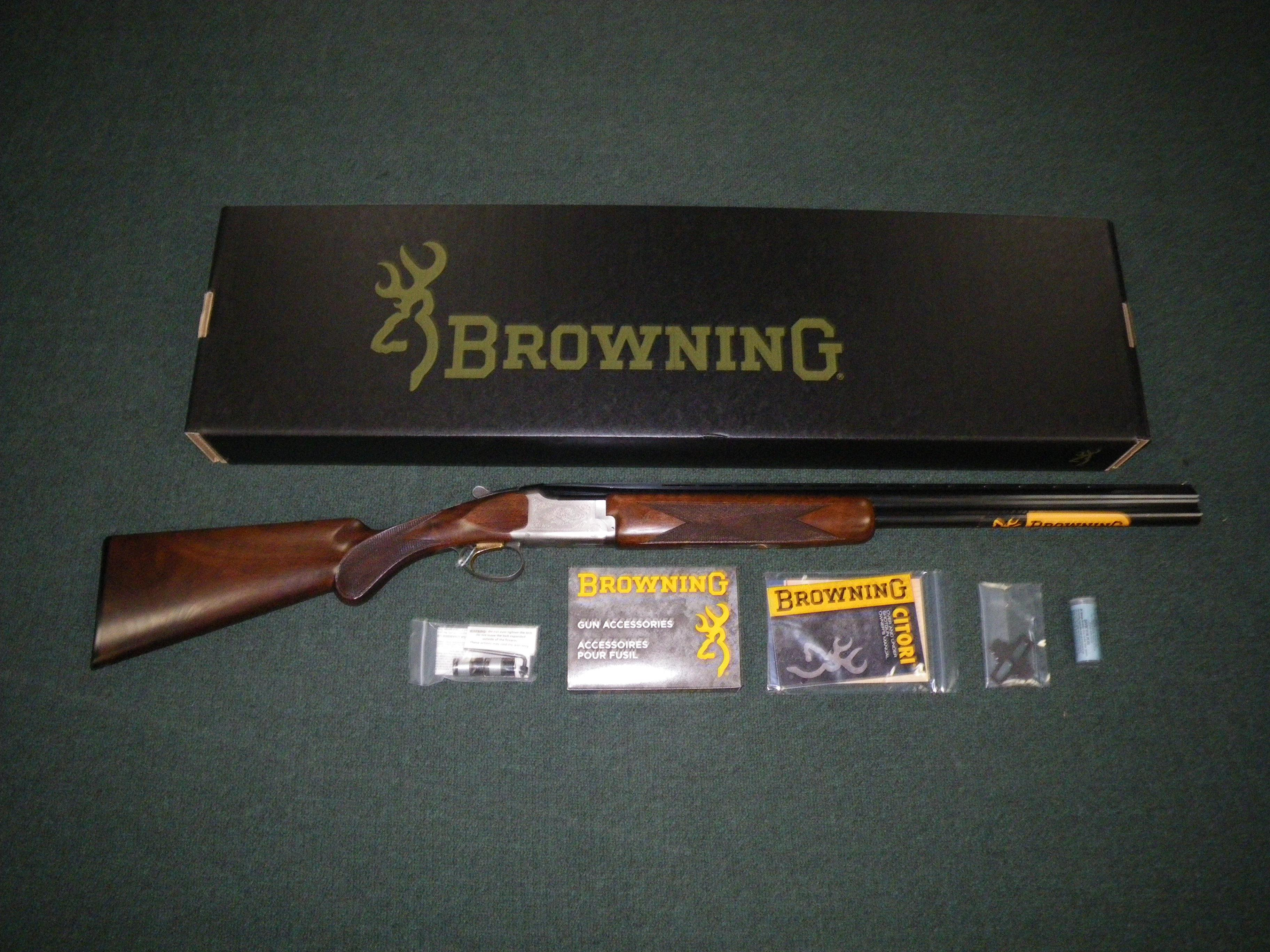 "Browning Citori Feather Lightning 12ga 26"" New #013534305  Guns > Shotguns > Browning Shotguns > Over Unders > Citori > Hunting"