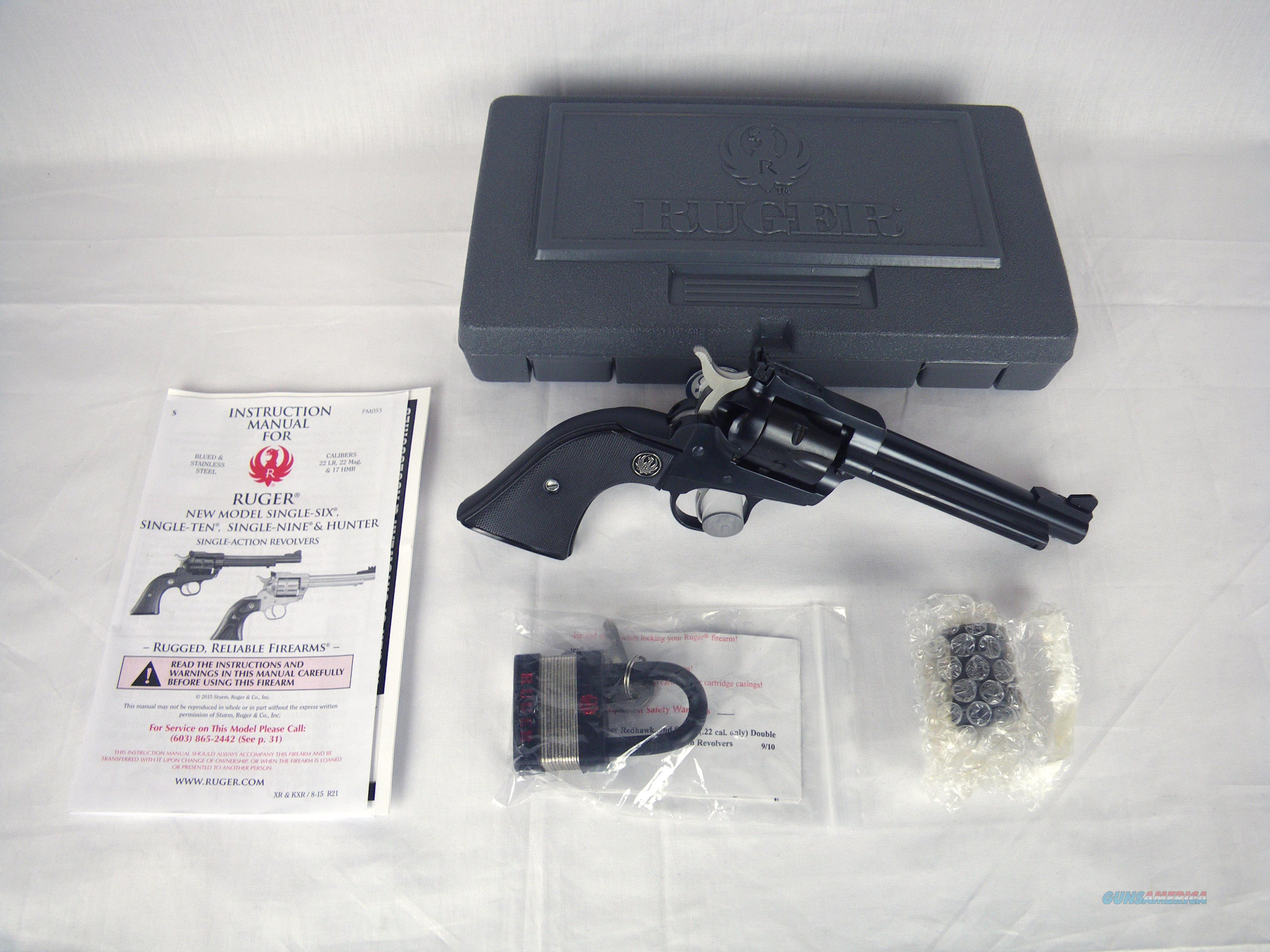 """Ruger Single Six Convertible 22lr/22mag 5.5"""" NEW #0621  Guns > Pistols > Ruger Single Action Revolvers > Single Six Type"""