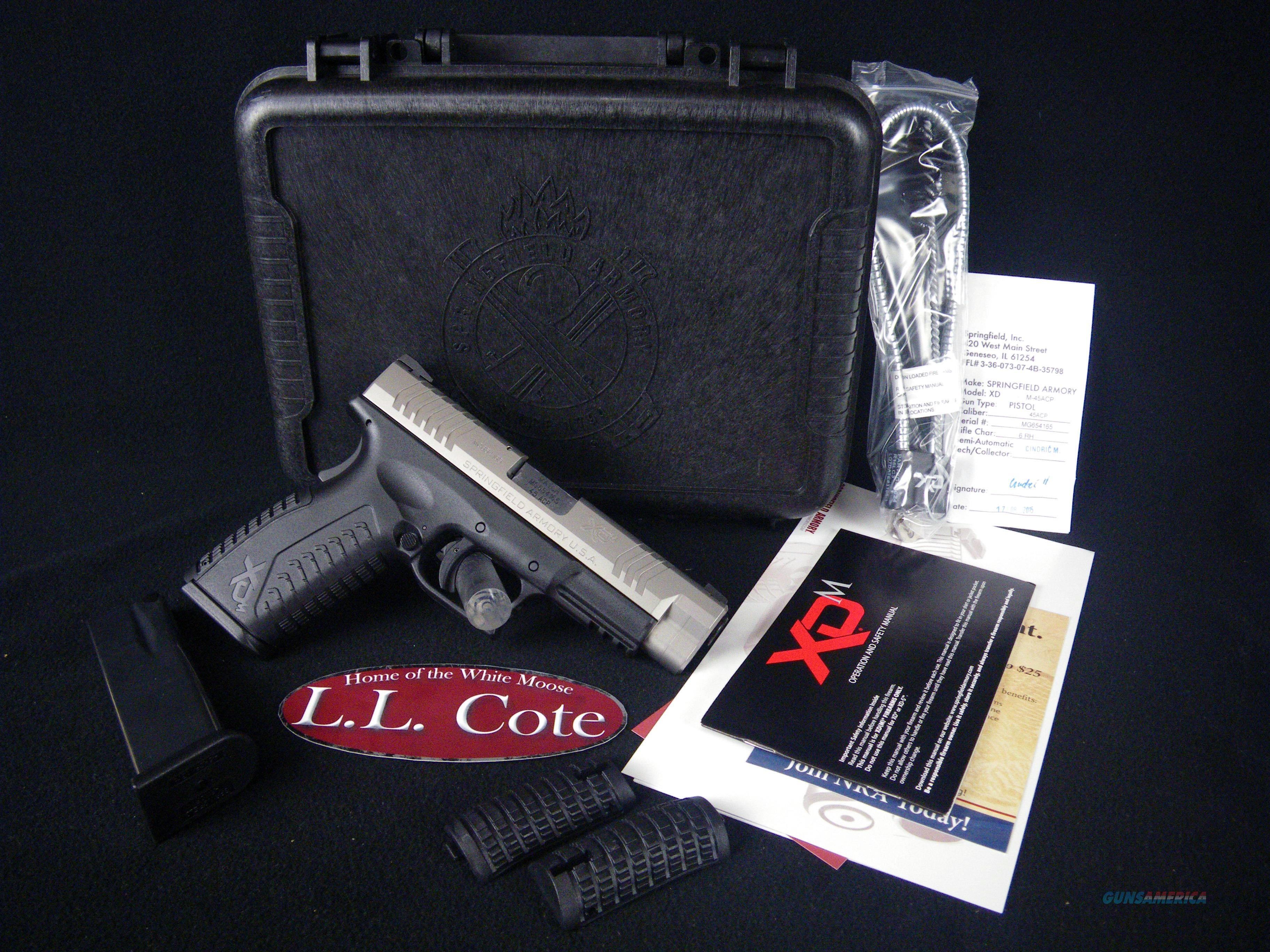 "Springfield XD(M) Full Size SS 45ACP 4.5"" NEW XDM94545SHCE  Guns > Pistols > Springfield Armory Pistols > XD-M"