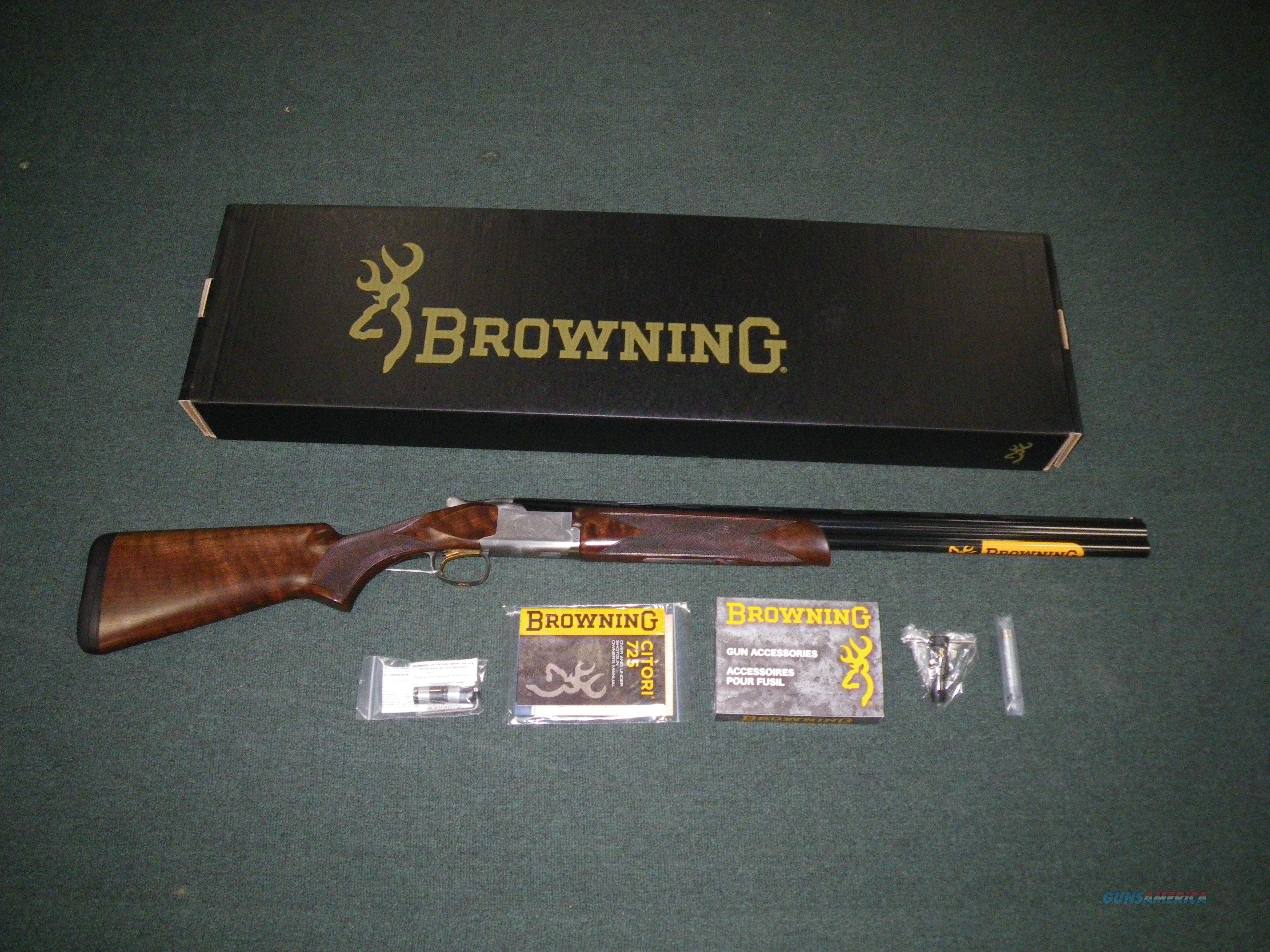 "Browning Citori 725 Field 12ga 26"" 3"" Chamber 0135303005  Guns > Shotguns > Winchester Shotguns - Modern > O/U > Hunting"