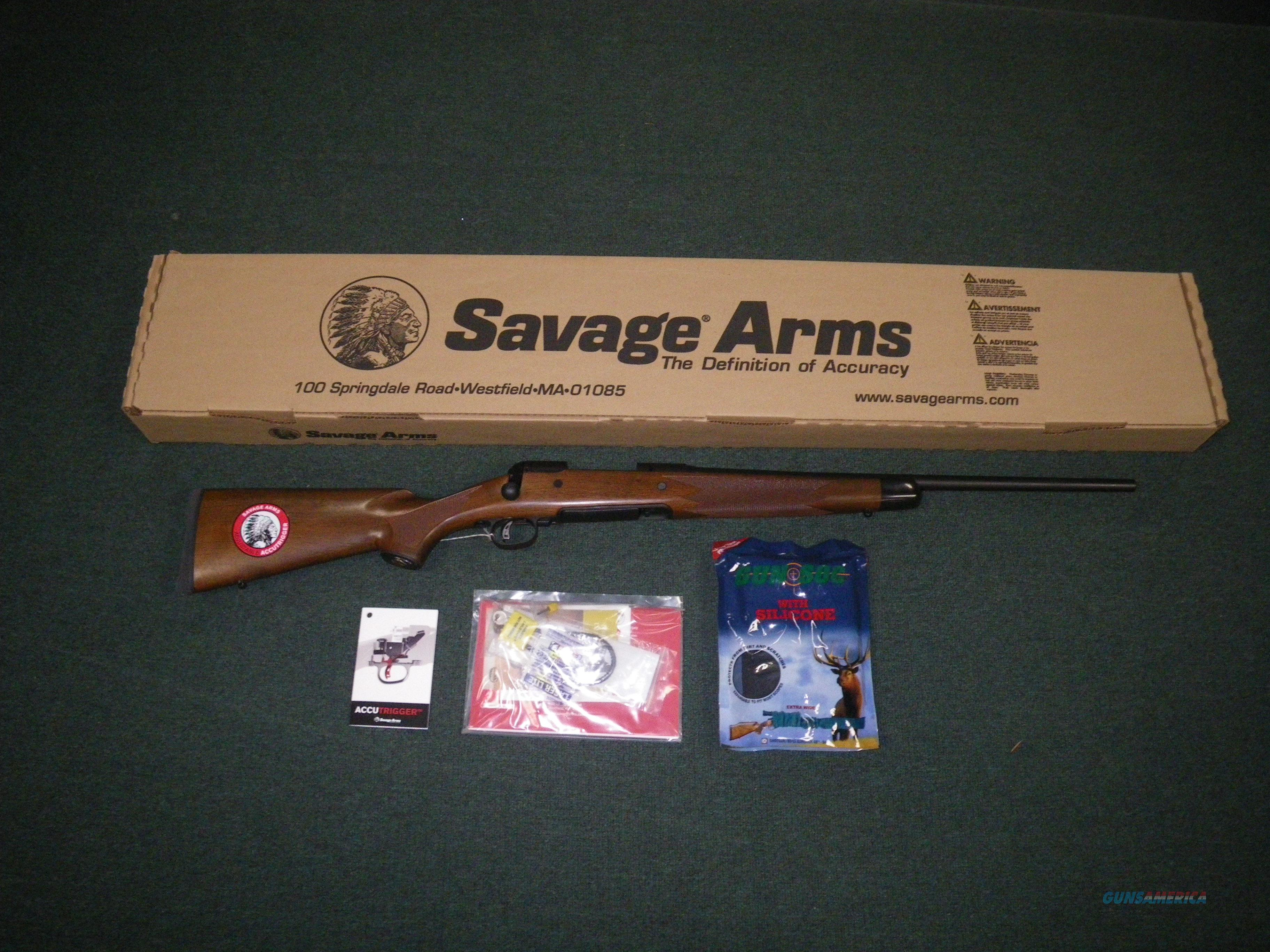 "Savage 14/114 American Classic 7mm-08 Rem 22"" NEW #19187  Guns > Rifles > Savage Rifles > 14/114"