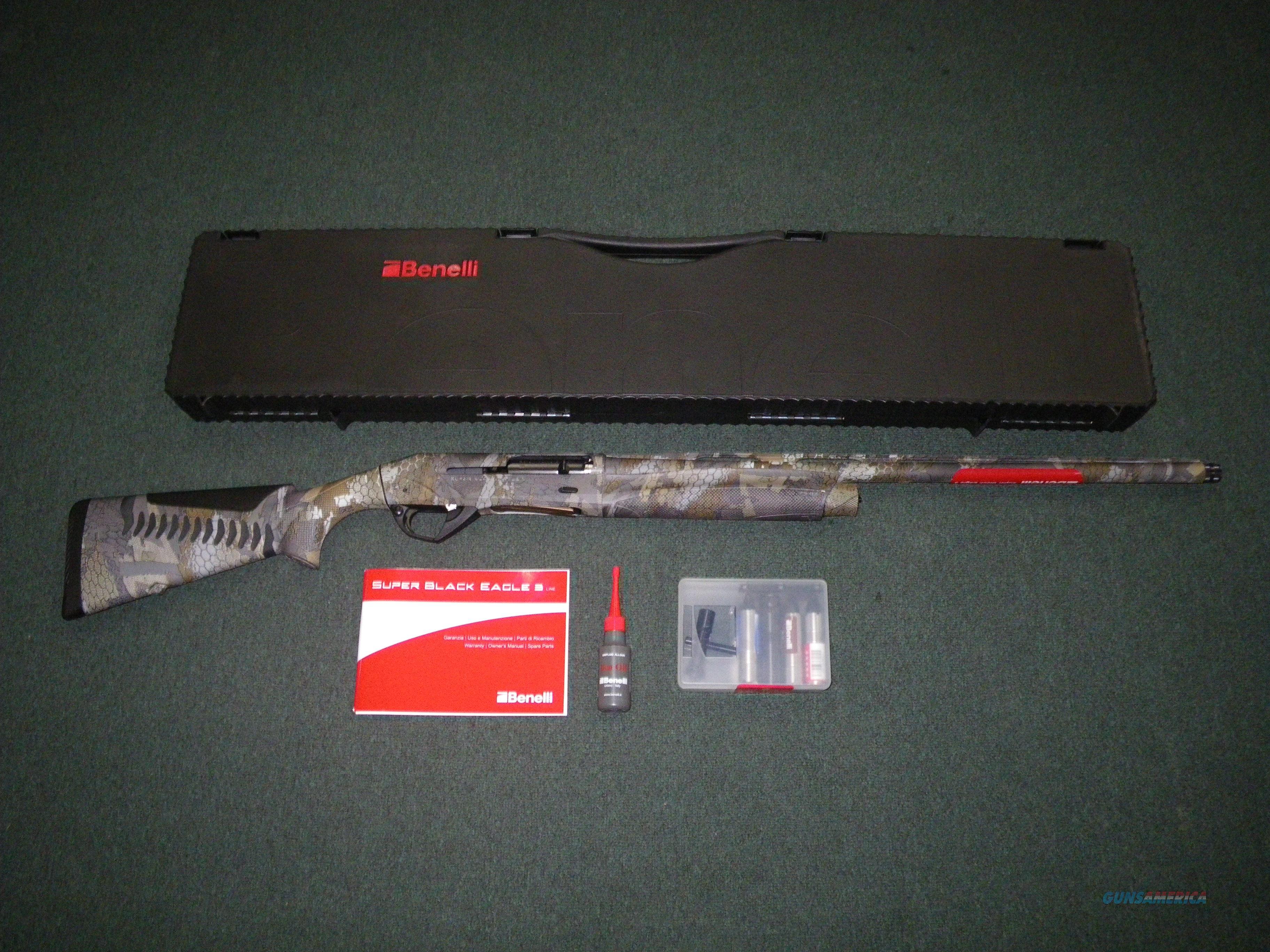 """Benelli Super Black Eagle 3 Optifade 12ga 26"""" NEW #10360  Guns > Shotguns > Benelli Shotguns > Sporting"""
