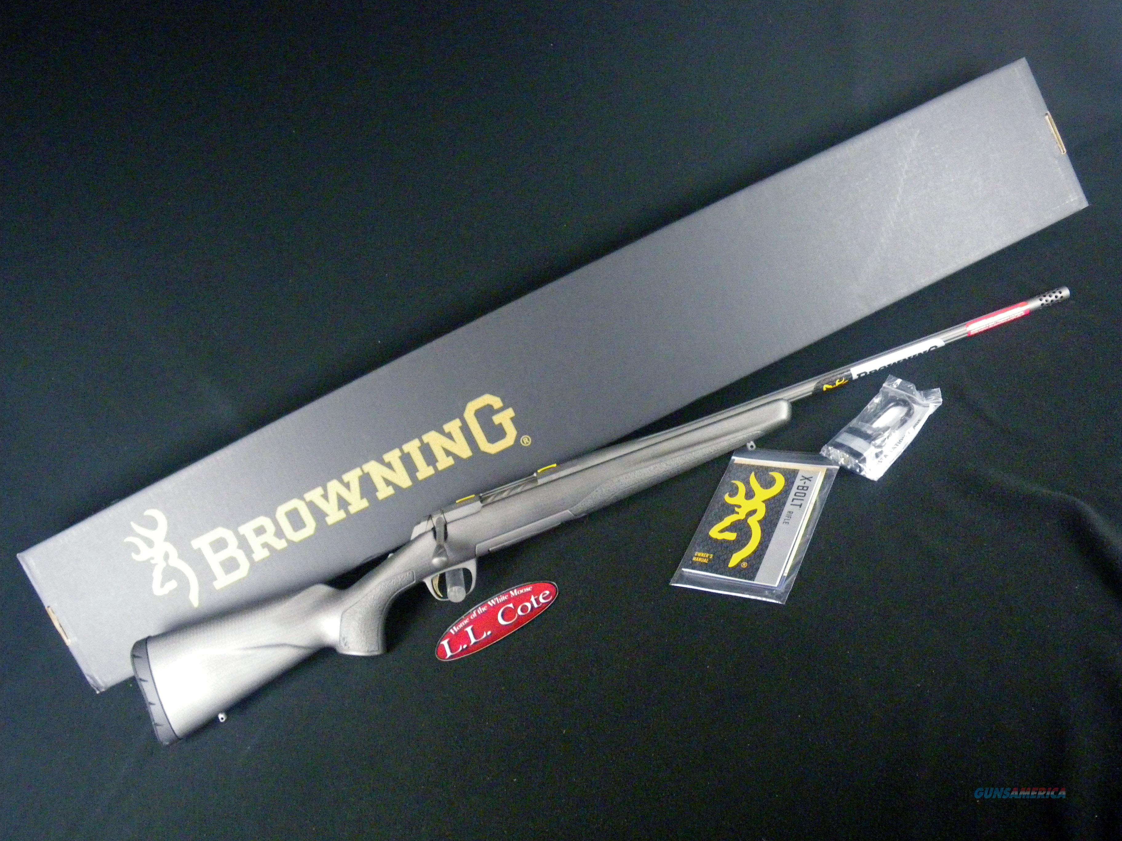 "Browning X-Bolt Pro Tungsten 6.5 Creed 22"" NEW 035459282  Guns > Rifles > Browning Rifles > Bolt Action > Hunting > Blue"