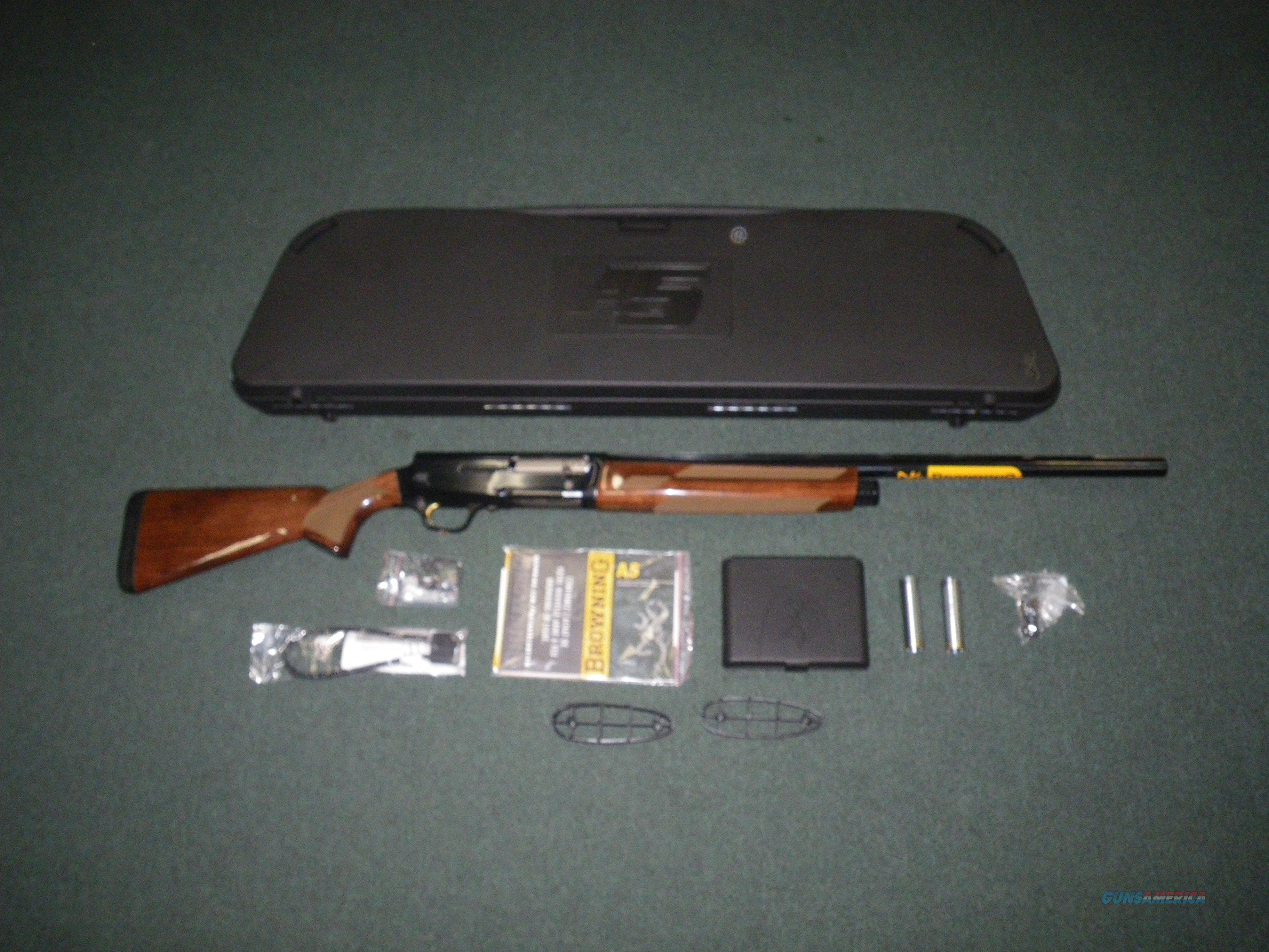 "Browning A5 Hunter Wood/Blue 12ga 26"" NEW 3.5"" 0118002005  Guns > Shotguns > Browning Shotguns > Autoloaders > Hunting"