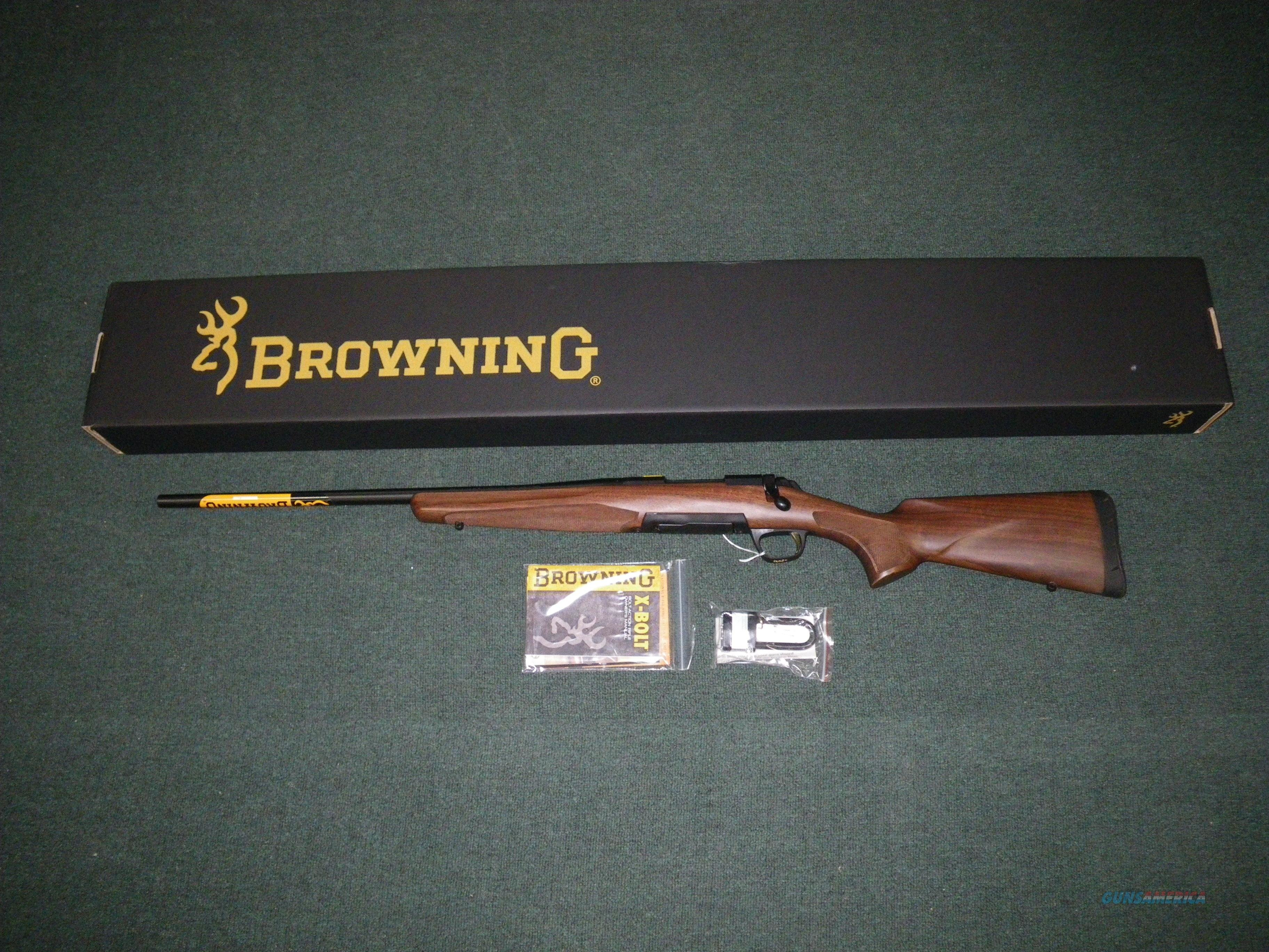 "Browning X-Bolt Hunter Left Hand 270 WSM 23"" NIB #035255248  Guns > Rifles > Browning Rifles > Bolt Action > Hunting > Blue"