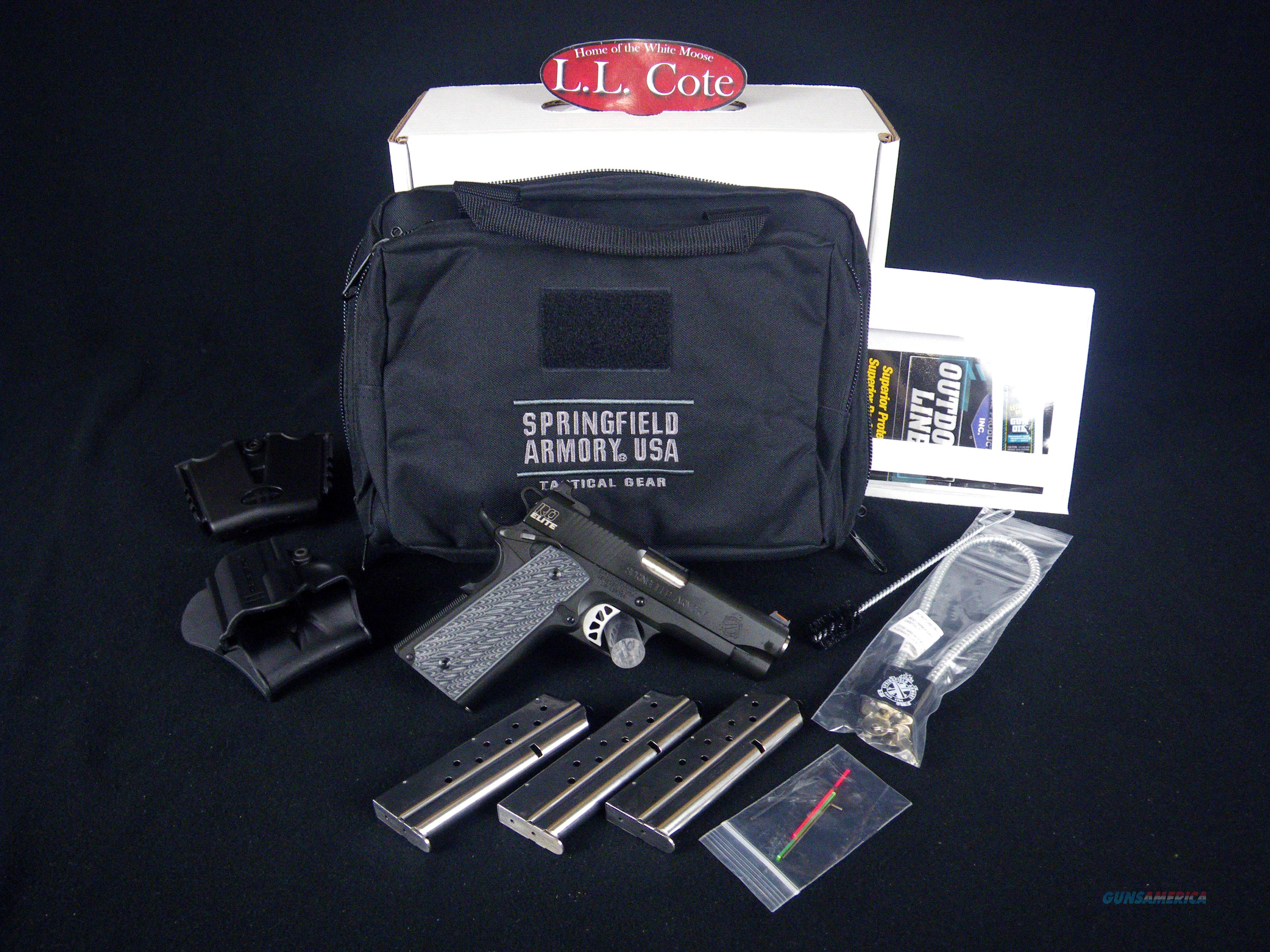 "Springfield 1911 Range Officer Elite Champion 9mm 4"" NEW PI9137ER  Guns > Pistols > Springfield Armory Pistols > 1911 Type"