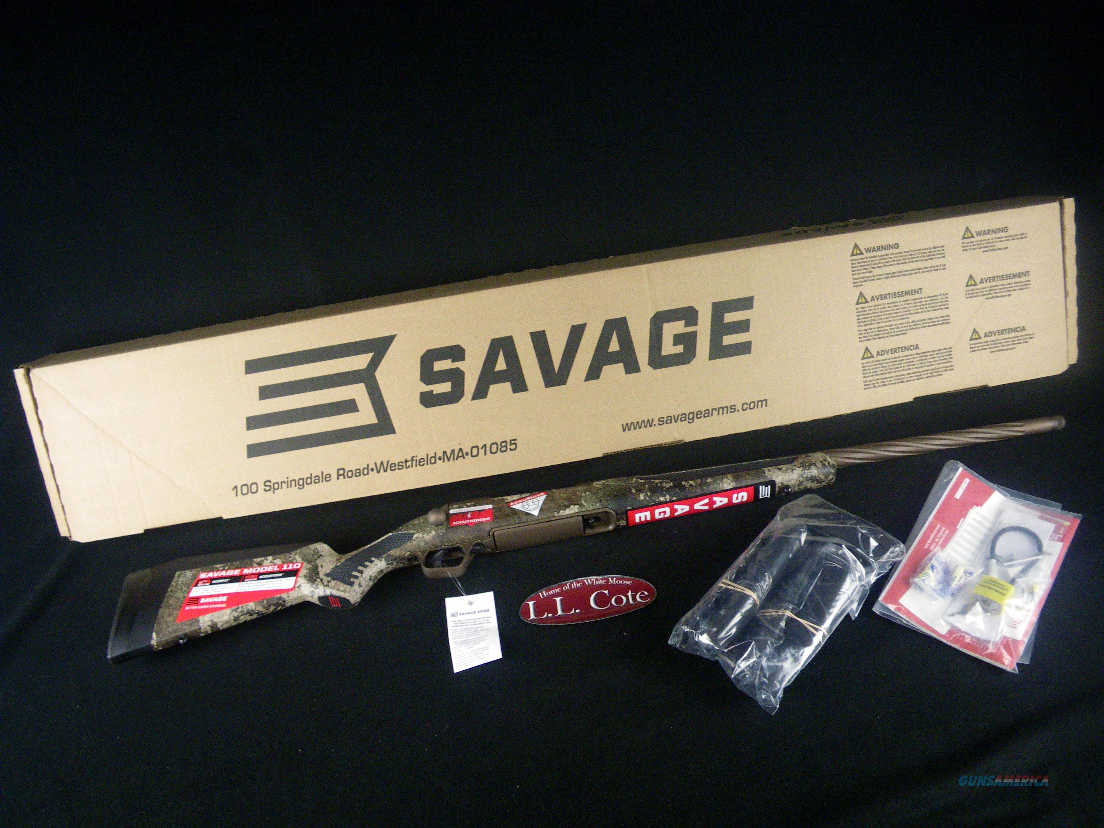 "Savage 110 High Country 280 Ackley 22"" NEW 57417	  Guns > Rifles > Savage Rifles > 10/110"