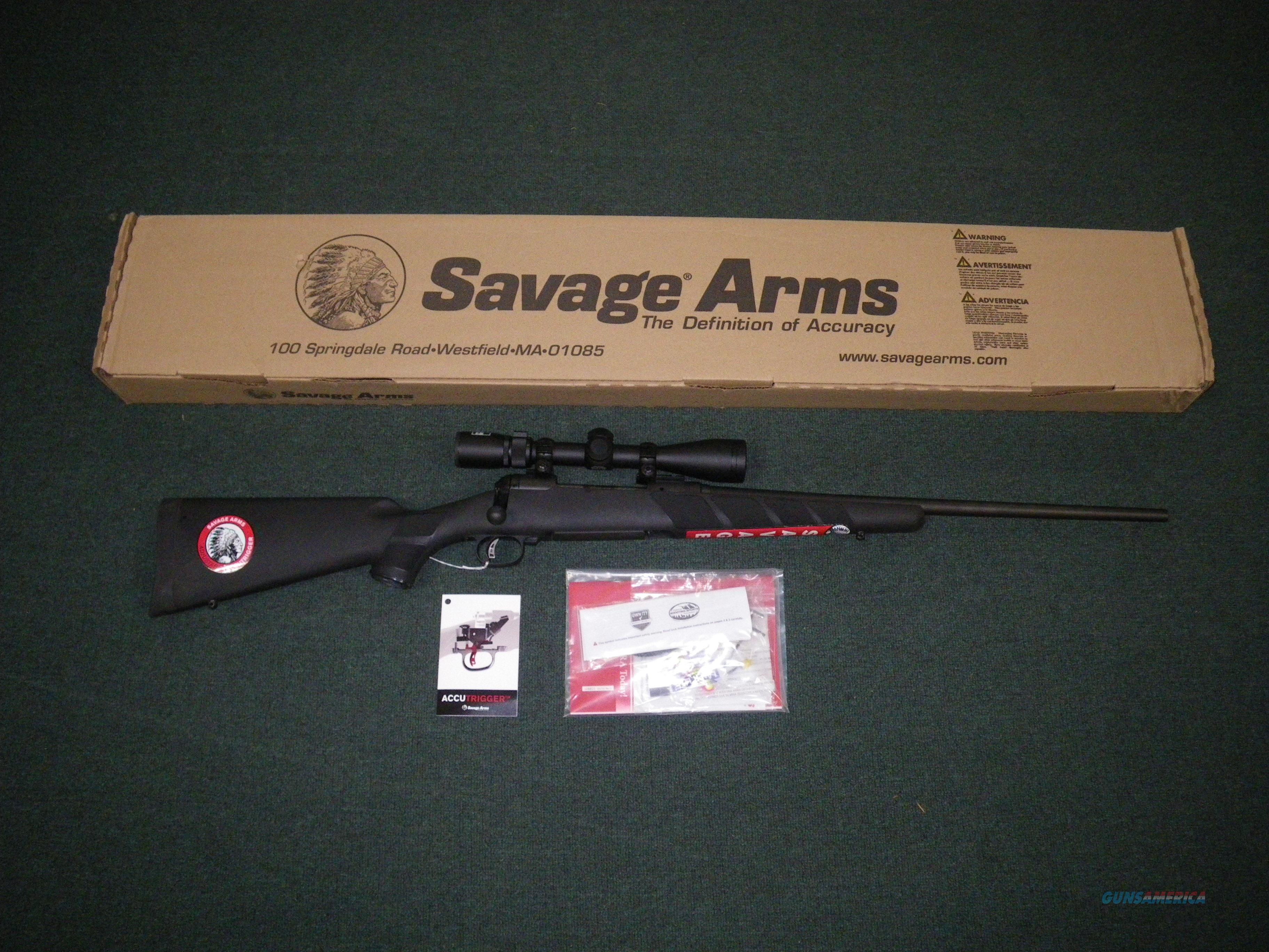 "Savage 111 Trophy Hunter XP Black 22-250 Rem 22"" 19678  Guns > Rifles > Savage Rifles > 11/111"