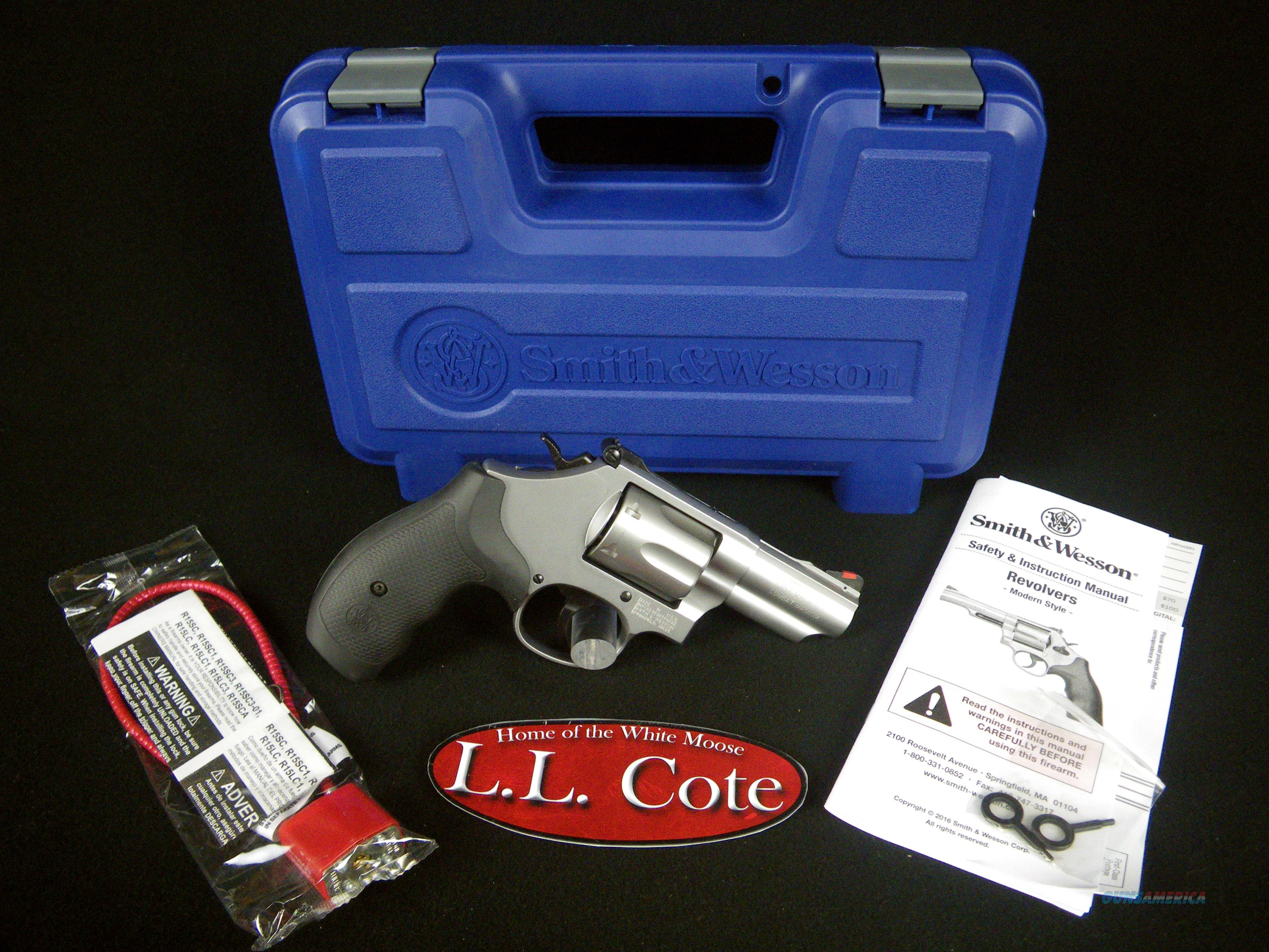 "Smith & Wesson Model 66 Combat 357Mag 2.75"" NEW 10061  Guns > Pistols > Smith & Wesson Revolvers > Med. Frame ( K/L )"