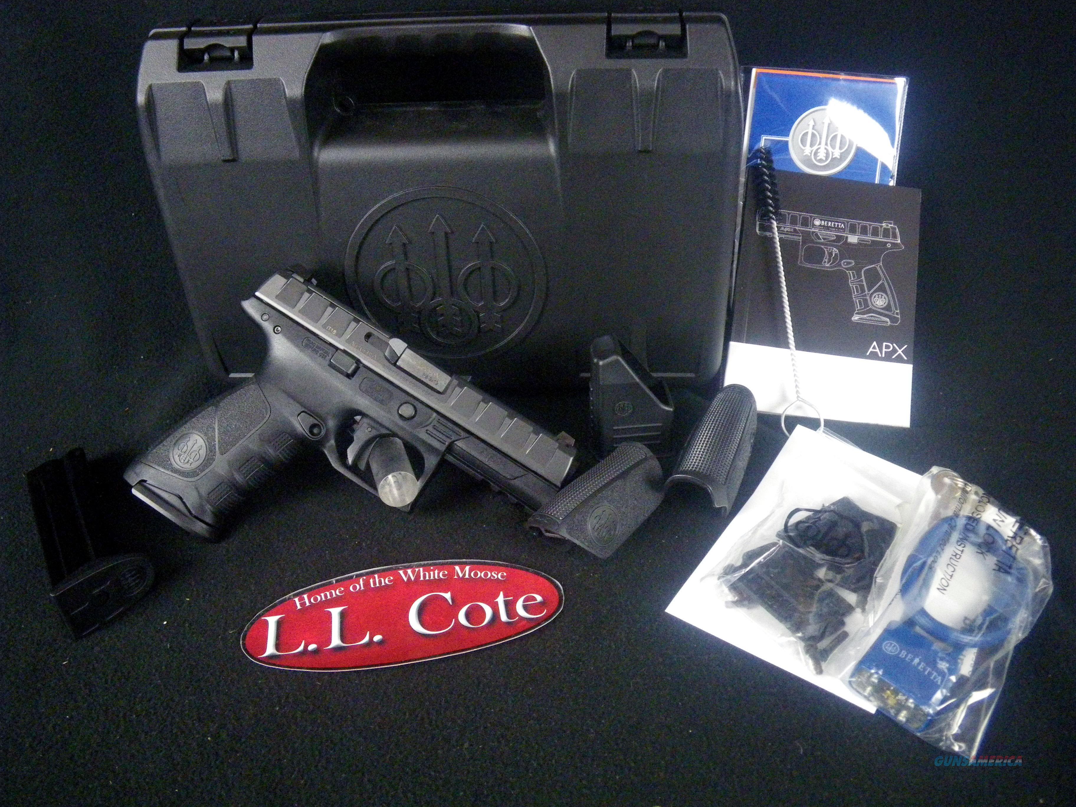 """Beretta APX RDO 9mm 4.25"""" 17rnd NEW JAXF92170  Guns > Pistols > Beretta Pistols > Polymer Frame"""