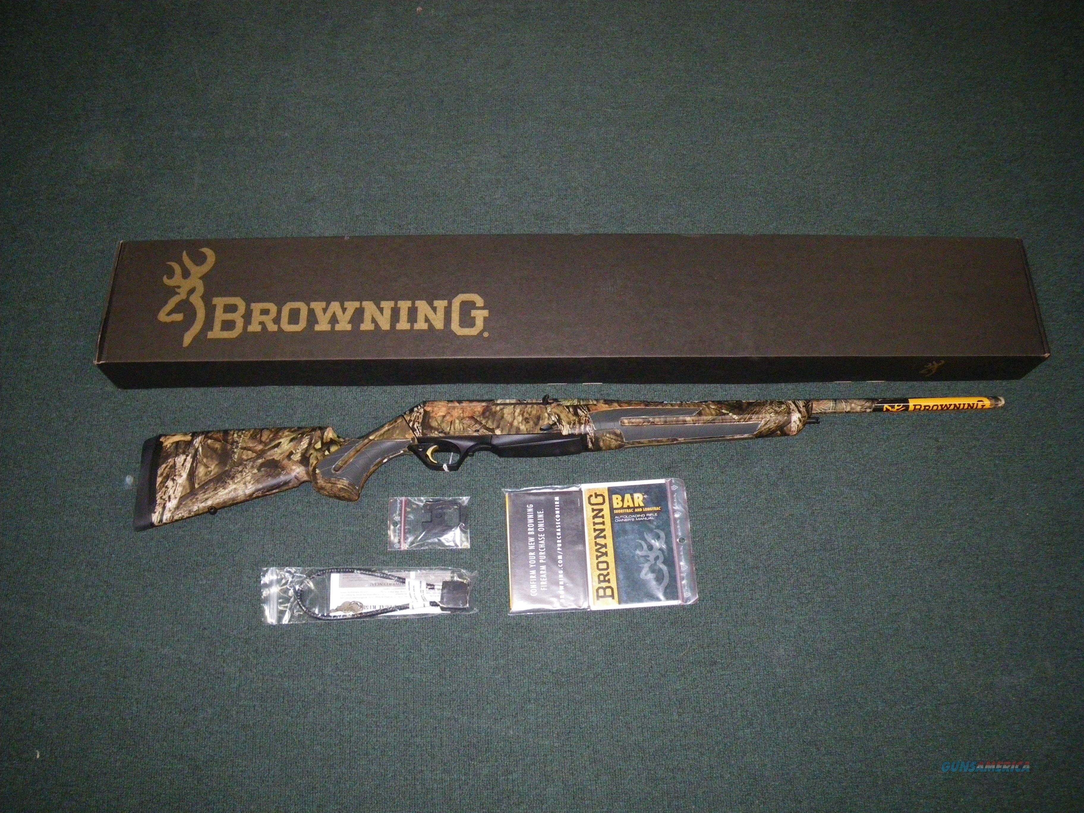 "Browning BAR Shortrac MOBU Country 243 Win 22"" #031042211  Guns > Rifles > Browning Rifles > Semi Auto > Hunting"