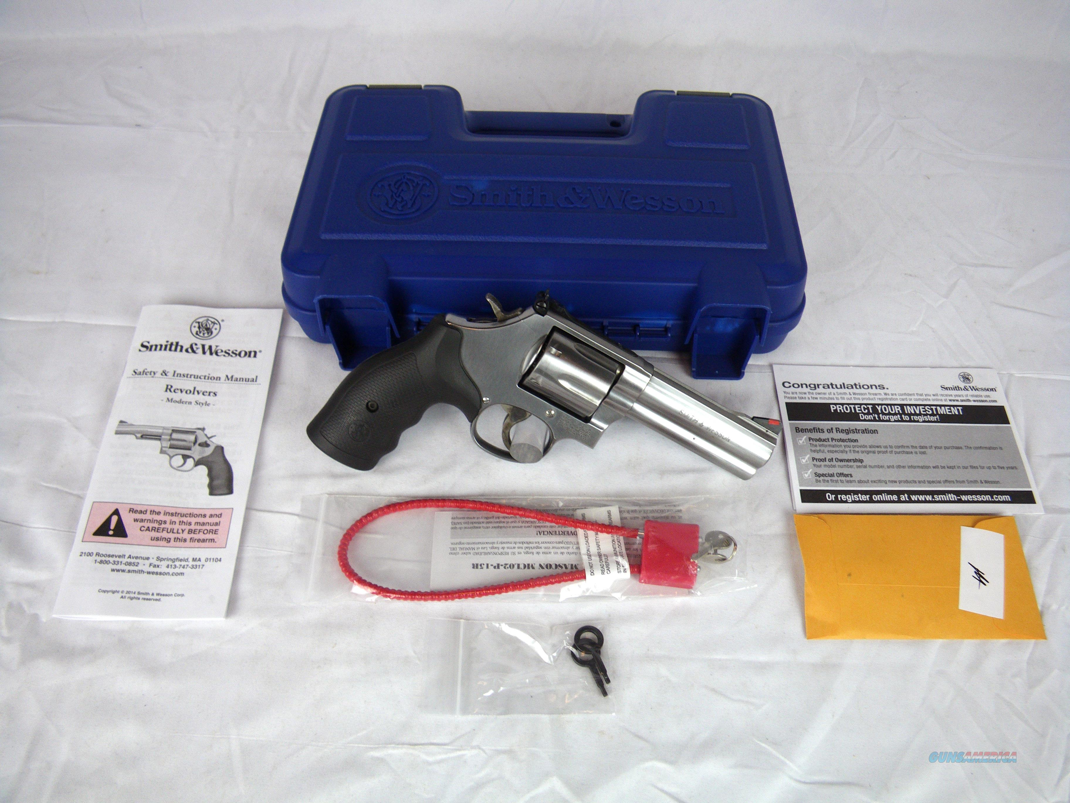 "Smith & Wesson Model 686 .357 Mag 4"" Stainless NEW #164222  Guns > Pistols > Smith & Wesson Revolvers > Full Frame Revolver"