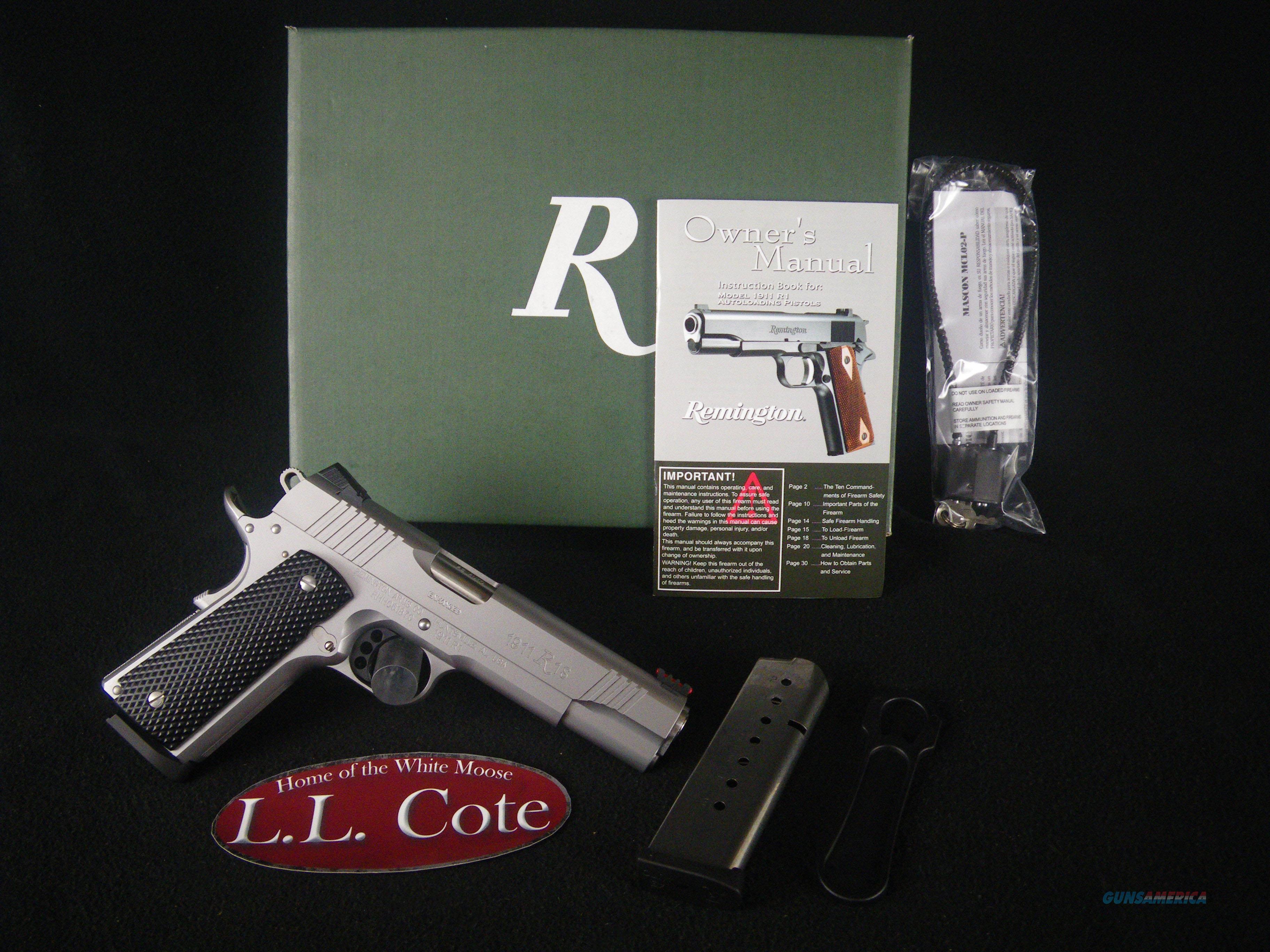"Remington 1911 R1 Enhanced 45ACP 5"" NEW 96329  Guns > Pistols > Remington Pistols - Modern > 1911"