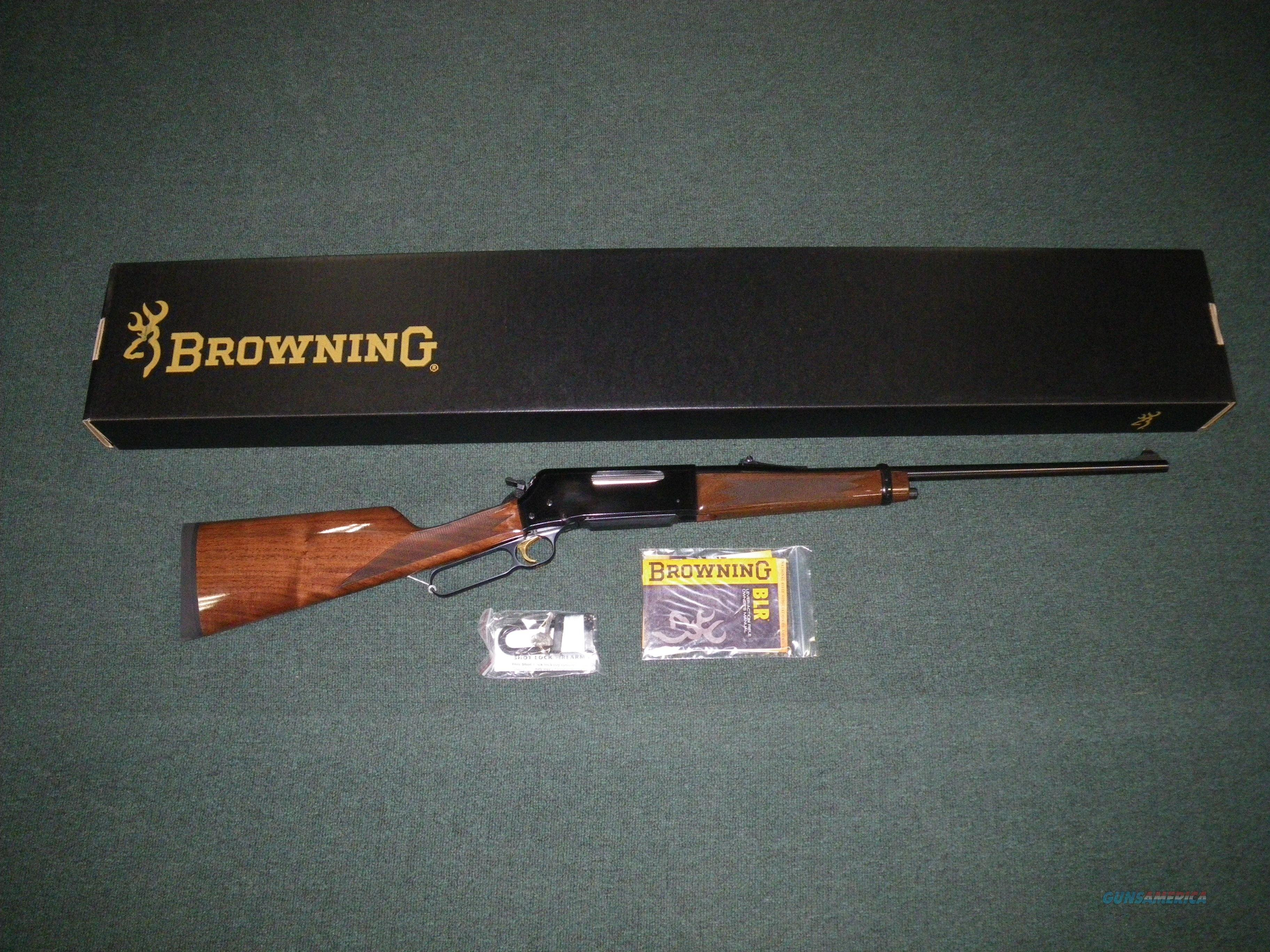 "Browning BLR Lightweight `81 7mm-08 Rem 20"" NIB #034006116  Guns > Rifles > Browning Rifles > Lever Action"