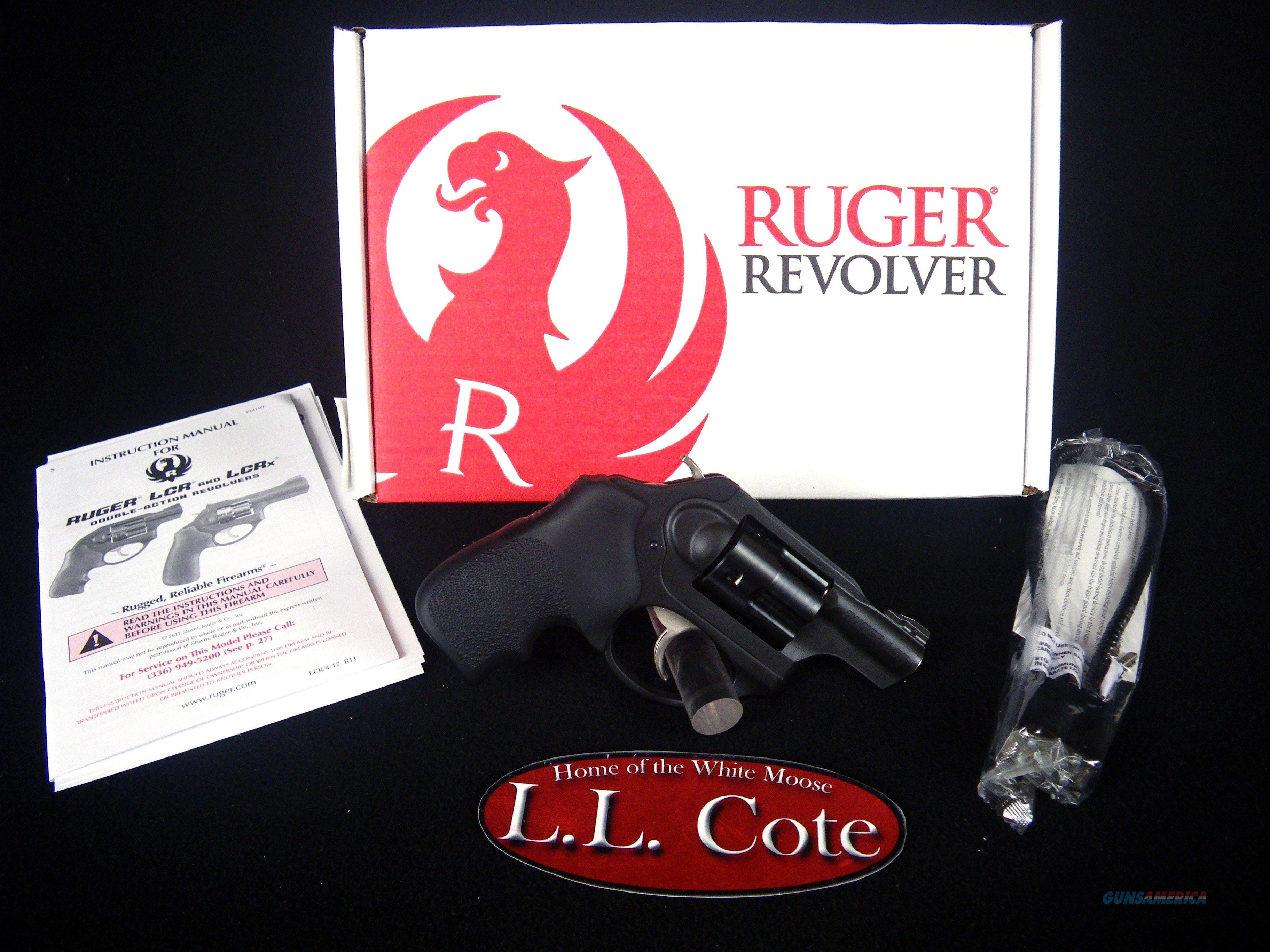 "Ruger LCRx 9mm Luger 1.87"" NEW Black/Rubber 5464  Guns > Pistols > Ruger Double Action Revolver > LCR"