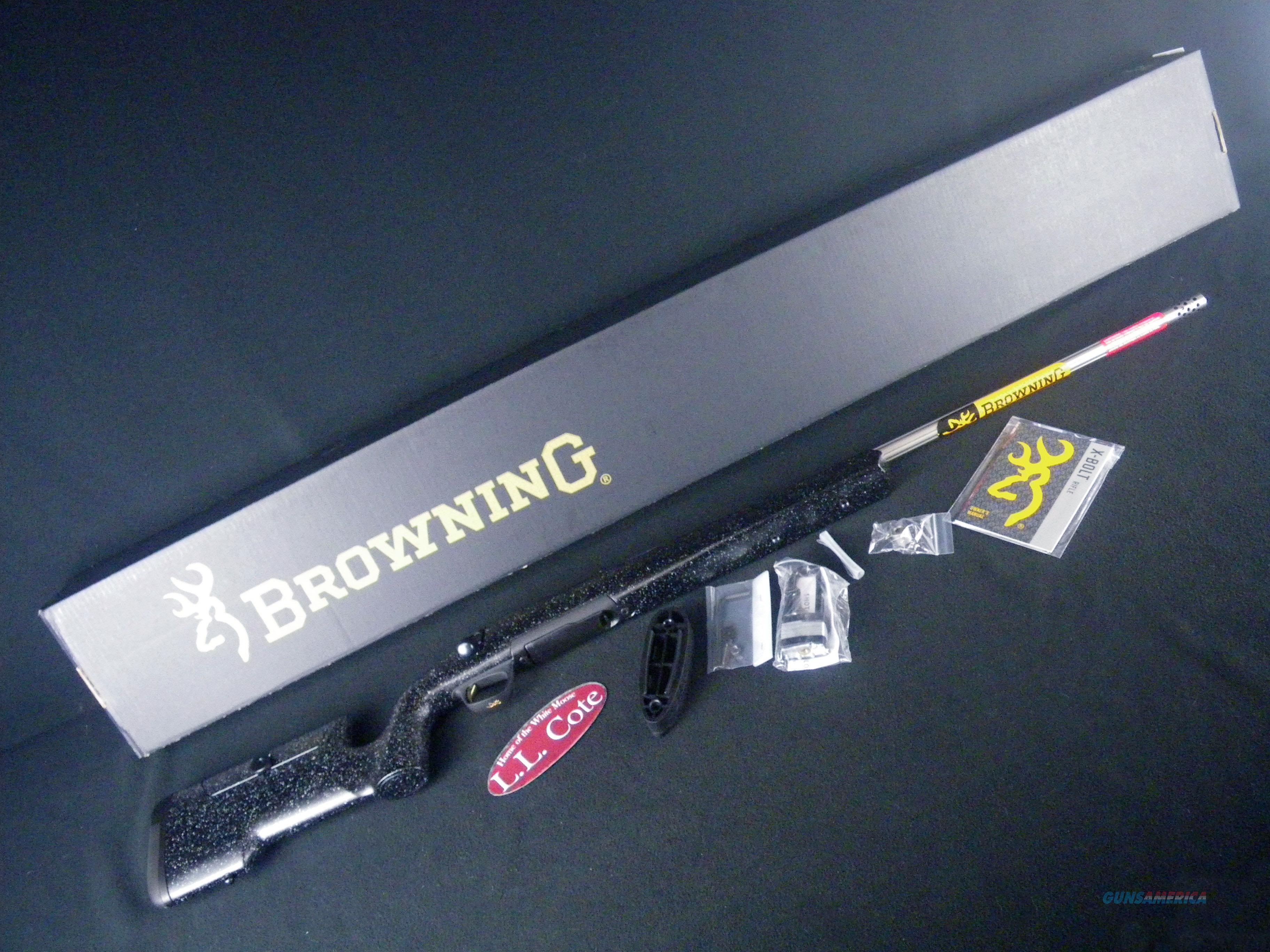 "Browning X-Bolt Max Long Range 308 Win 26"" NEW 035438218  Guns > Rifles > Browning Rifles > Bolt Action > Hunting > Blue"