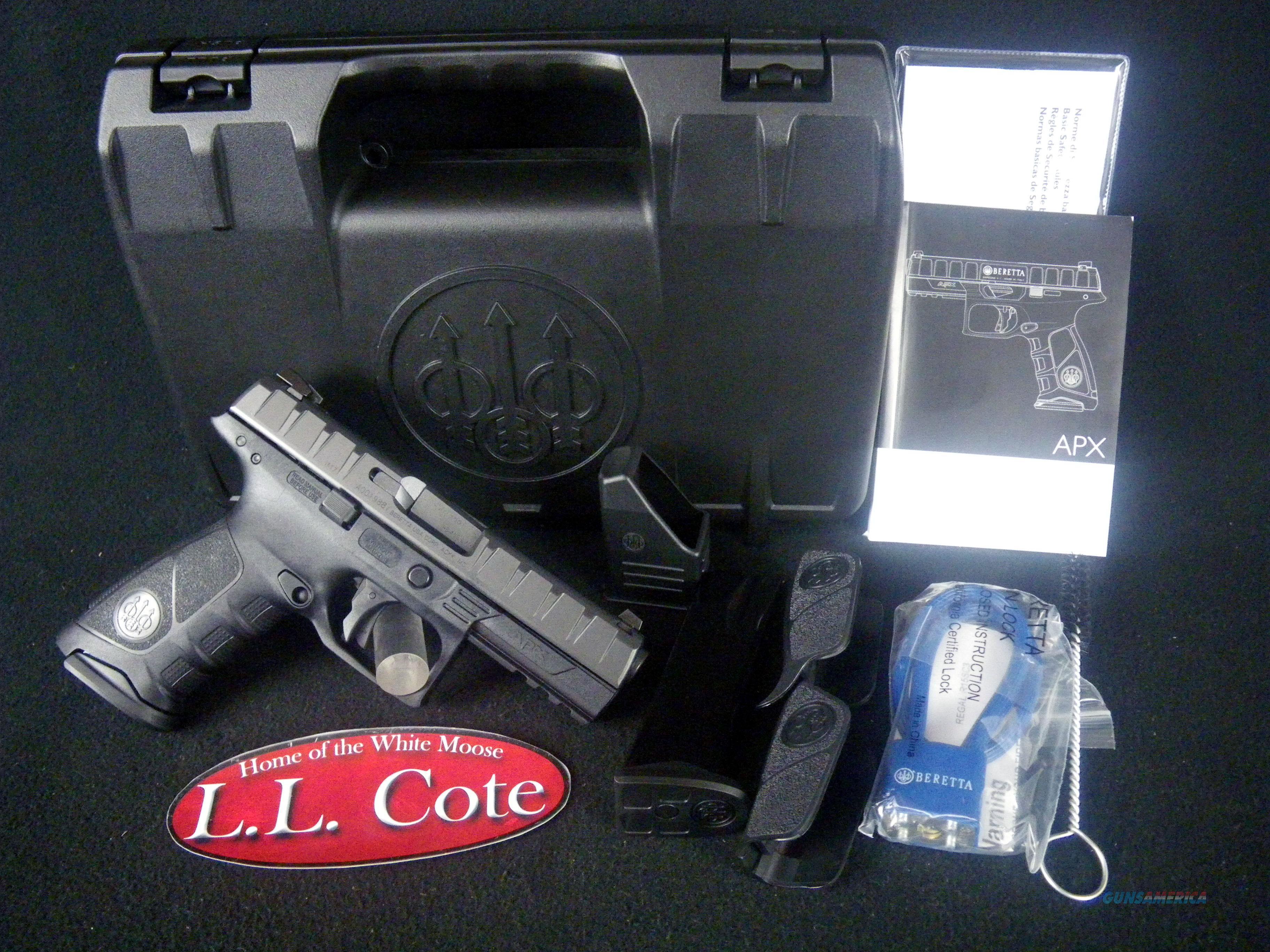 """Beretta APX Black 40S&W 15rnd 4.25"""" NEW JAXF421  Guns > Pistols > Beretta Pistols > Polymer Frame"""