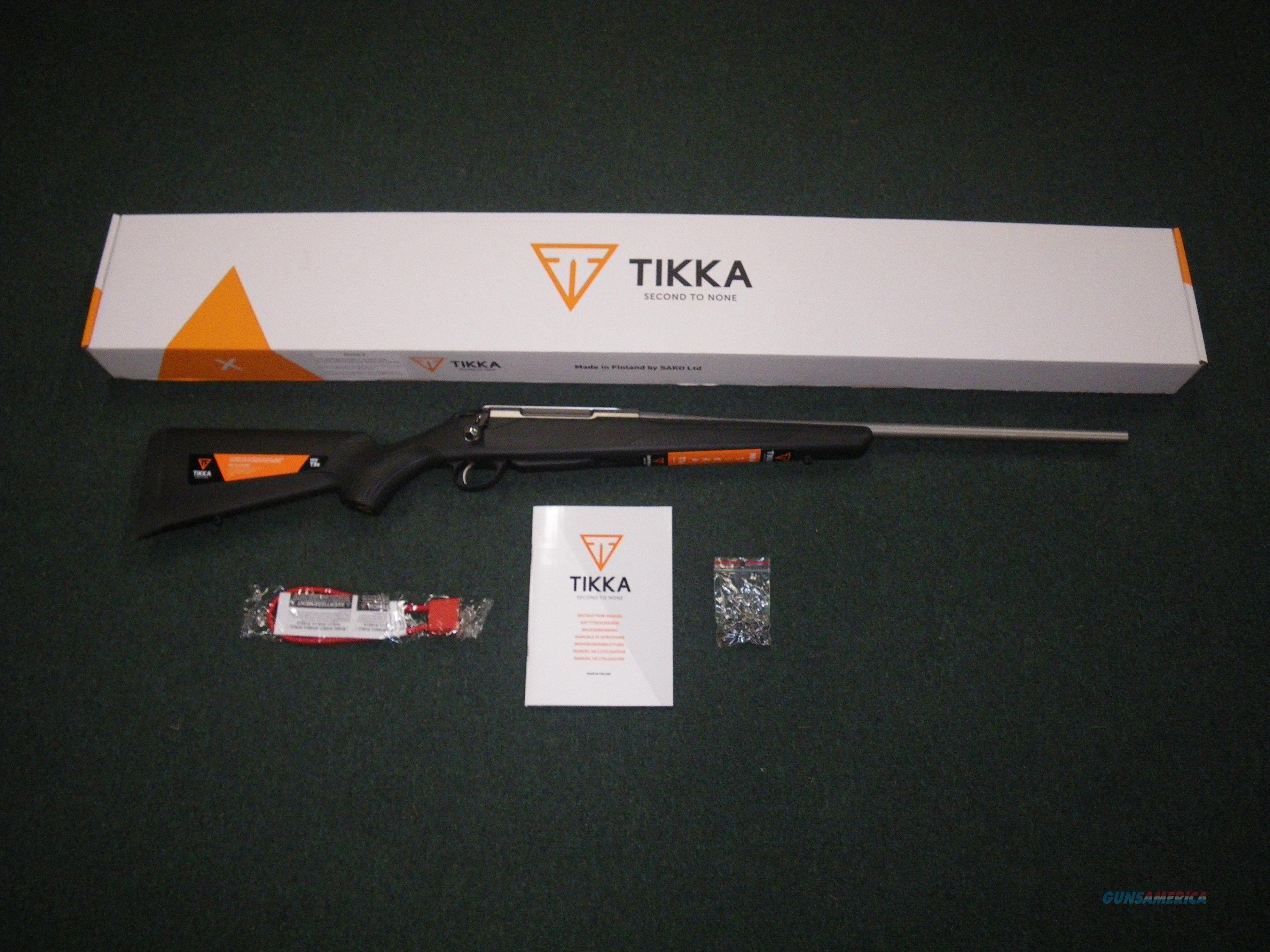 "Tikka T3x Lite Stainless Syn 25-06 Rem 22.4"" NEW JRTXB317  Guns > Rifles > Tikka Rifles > T3"