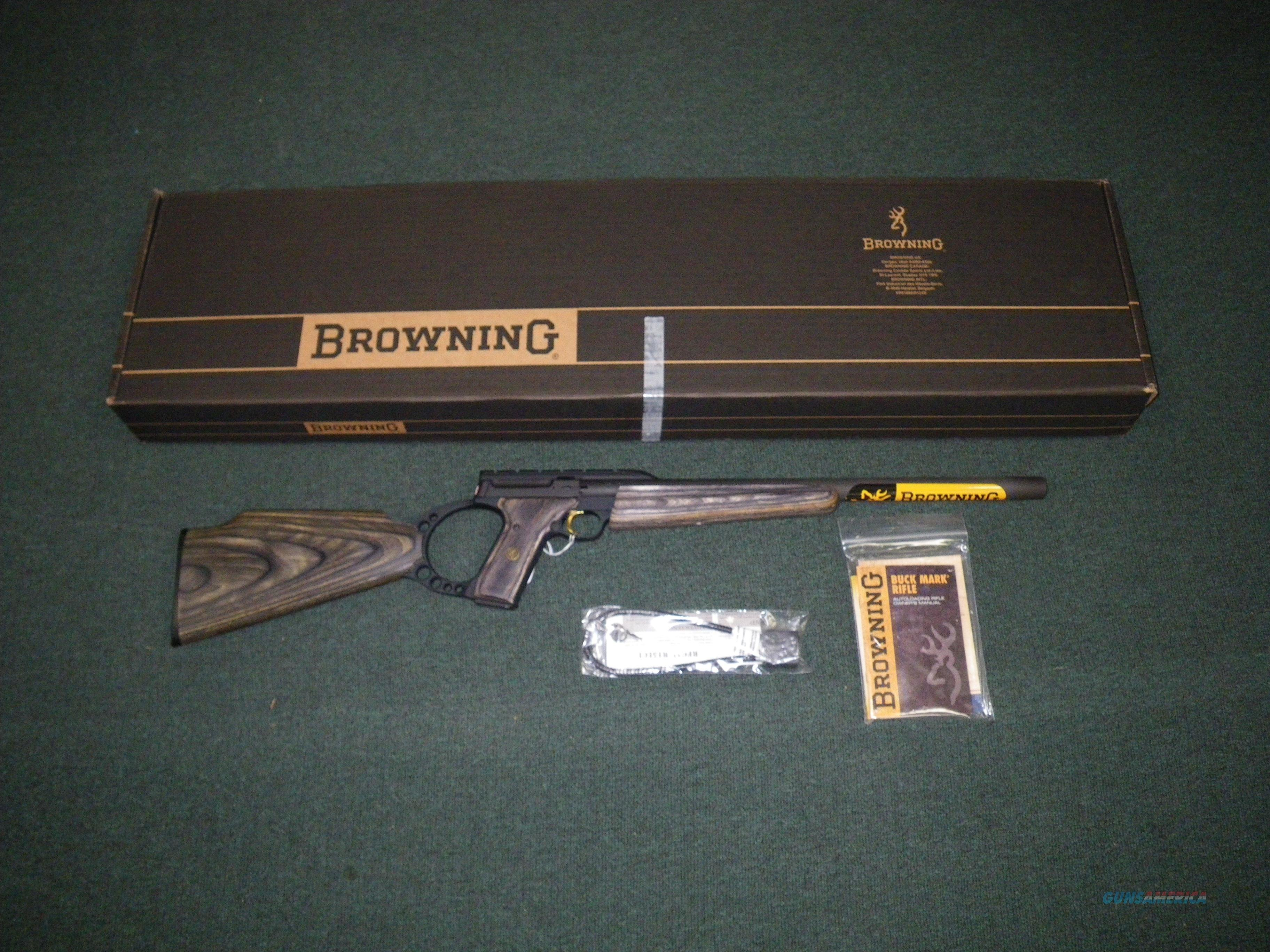 "Browning Buckmark Field Target 22lr 18"" Heavy Barrel Item #021030202  Guns > Rifles > Browning Rifles > Semi Auto > Tactical"