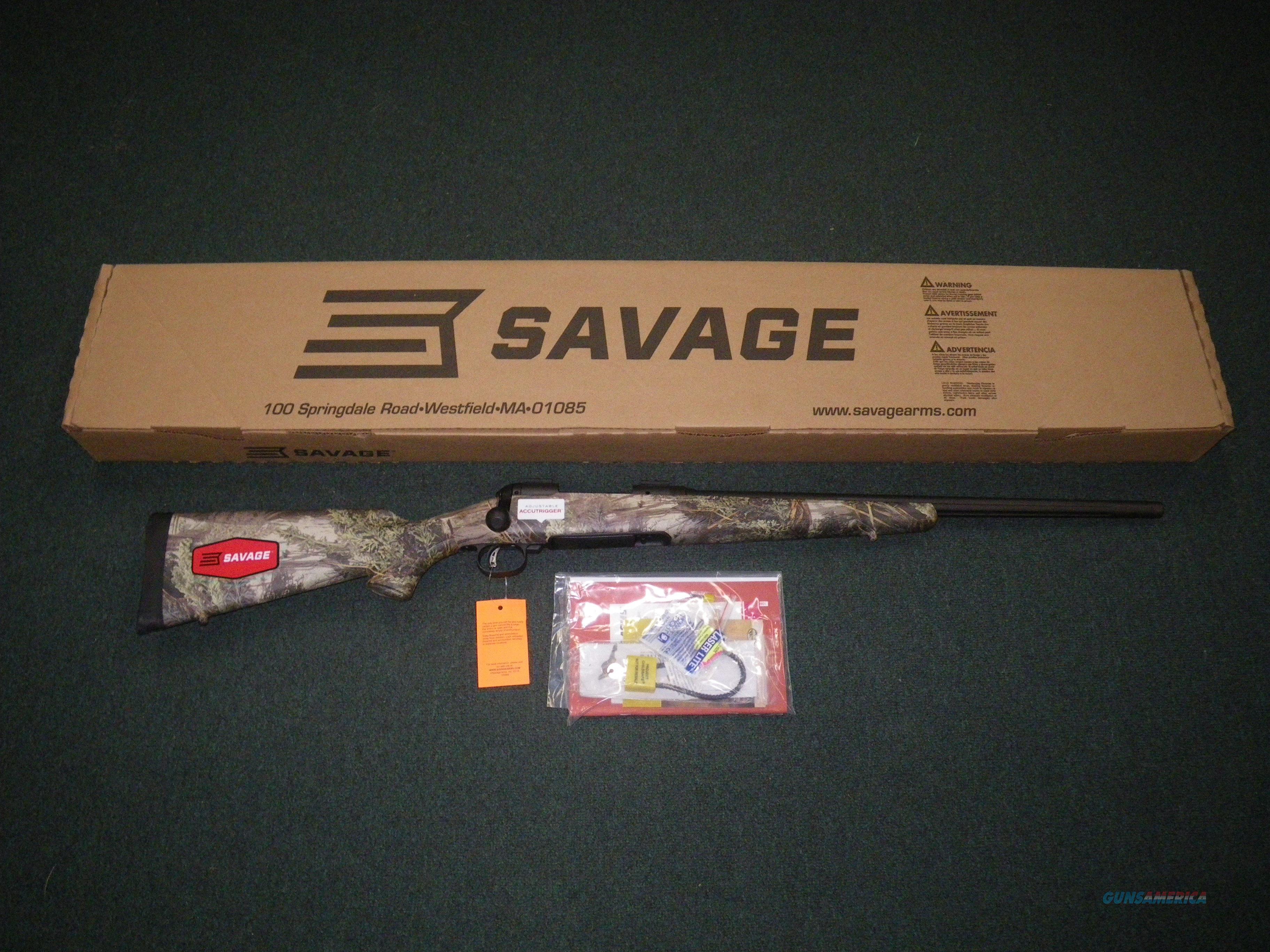 "Savage 10/110 Predator Hunter Max-1 204 Ruger 24"" NEW #18887  Guns > Rifles > Savage Rifles > 10/110"