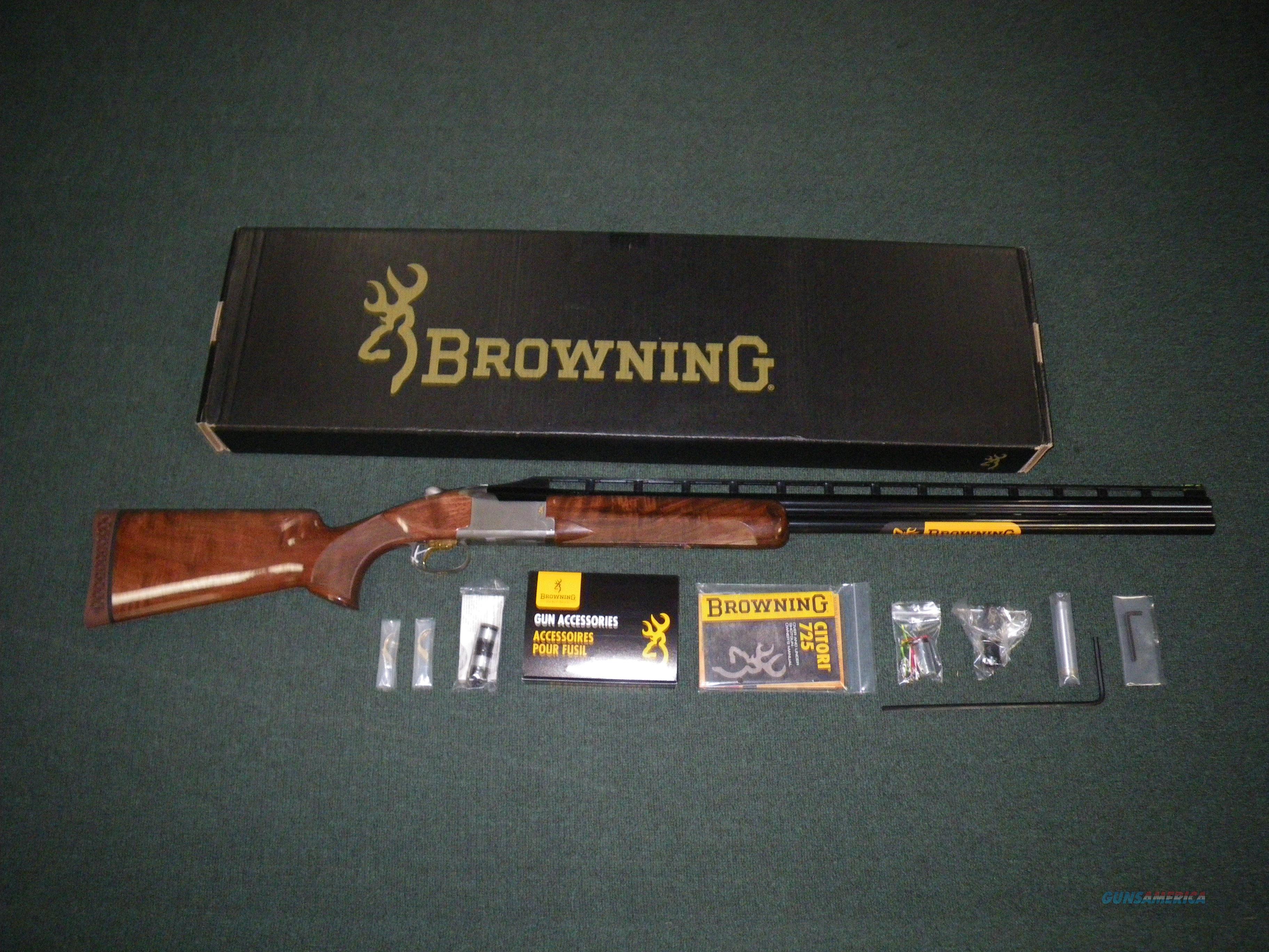 "Browning Citori 725 Trap 12ga 32"" Adjustable Comb #0135803009  Guns > Shotguns > Browning Shotguns > Over Unders > Citori > Hunting"