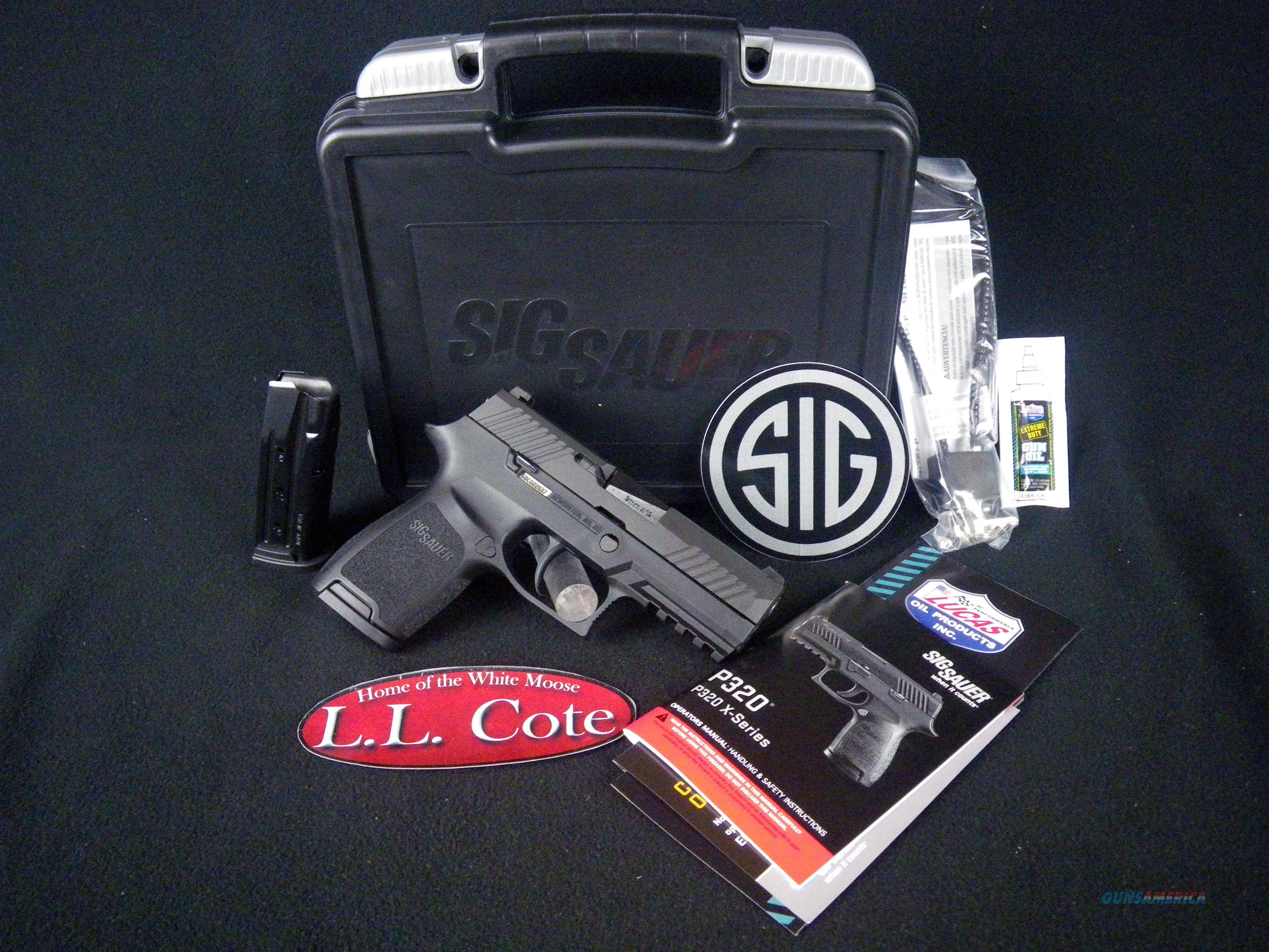 "Sig Sauer P320 Compact 9mm 3.9"" Black NEW 320C-9-B  Guns > Pistols > Sig - Sauer/Sigarms Pistols > P320"