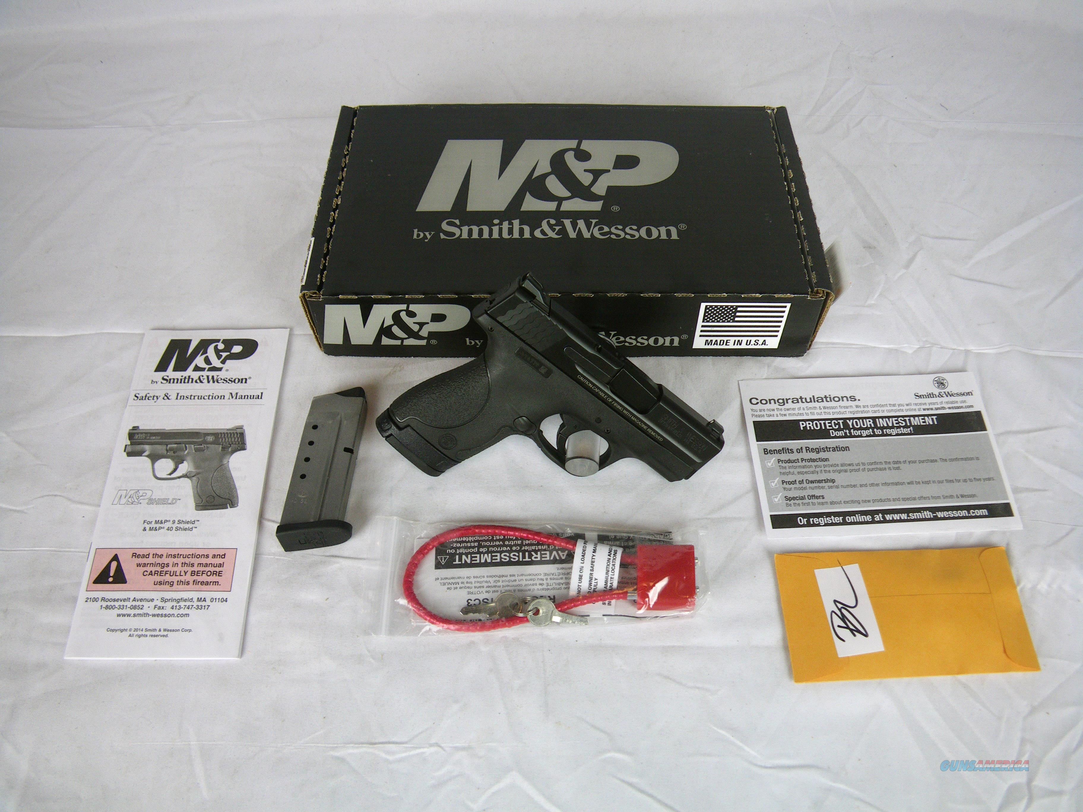 "Smith & Wesson M&P40 Shield 40 S&W 3.1"" NEW #180020  Guns > Pistols > Smith & Wesson Pistols - Autos > Polymer Frame"