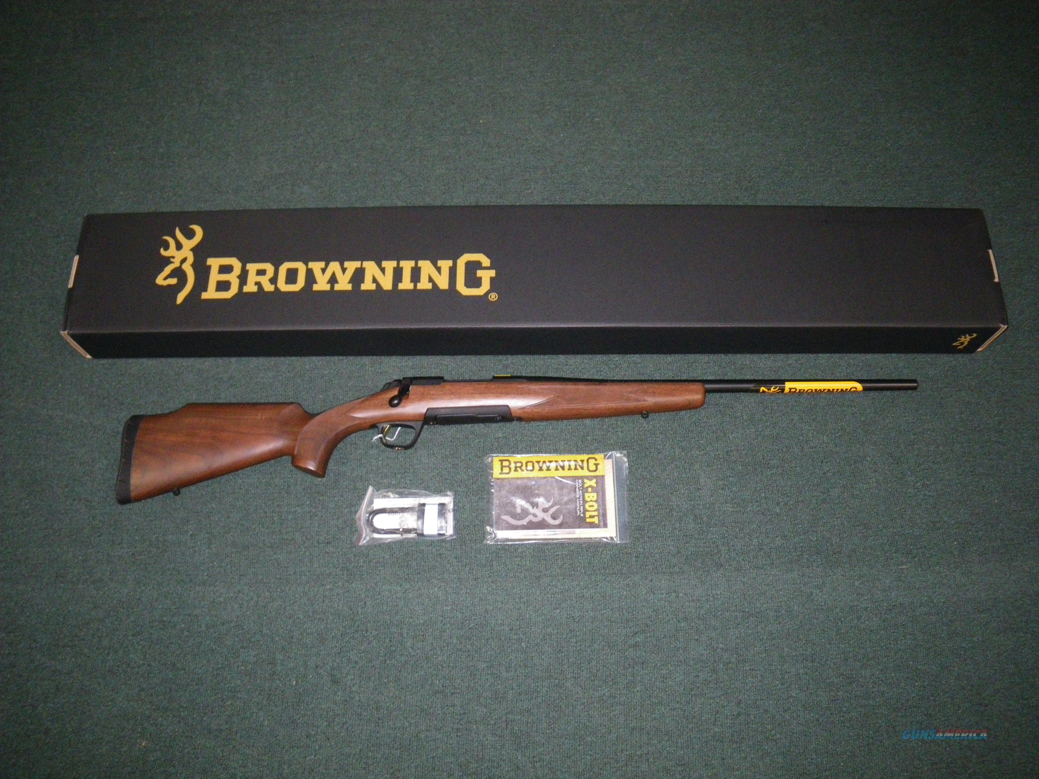 "Browning X-Bolt Field Hunter 243 Win 22"" NIB #035281211  Guns > Rifles > Browning Rifles > Bolt Action > Hunting > Blue"