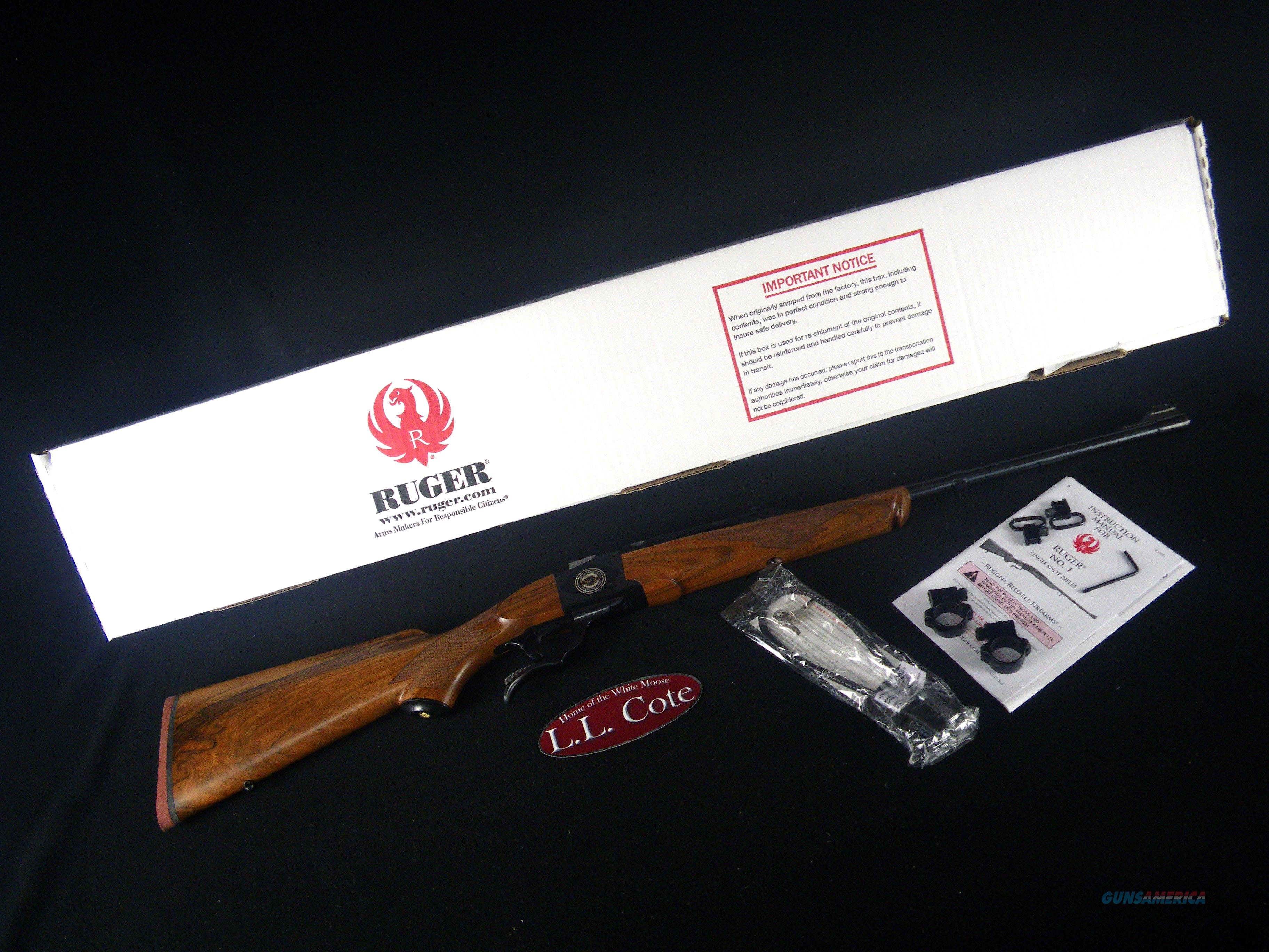 """Ruger No. 1 50th Anniversary 308 Win 22"""" NEW 21308  Guns > Rifles > Ruger Rifles > #1 Type"""
