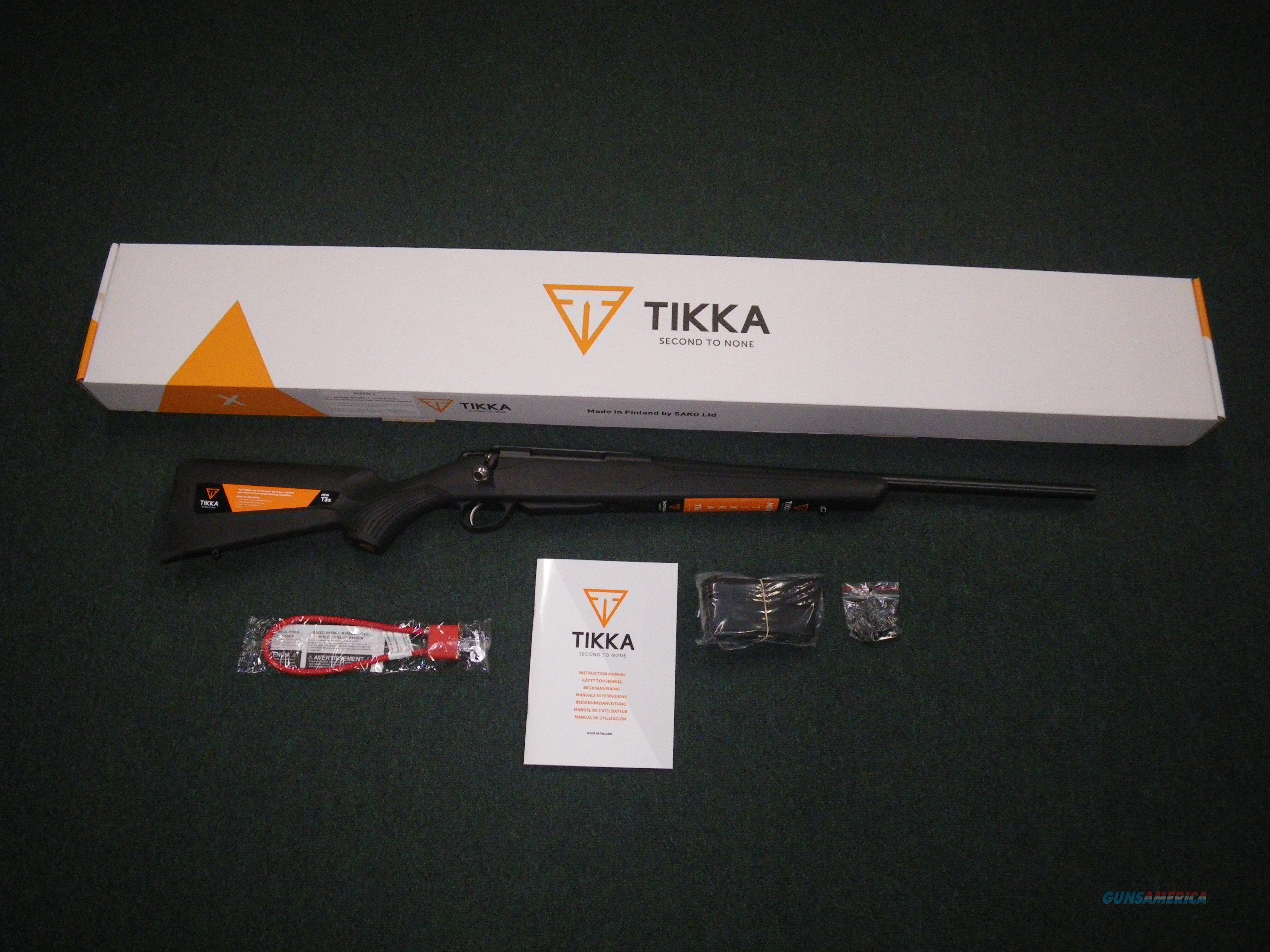 "Tikka T3x Lite Synthetic Blued 30-06 Spfld 22.4"" NEW JRTXE320  Guns > Rifles > Tikka Rifles > T3"