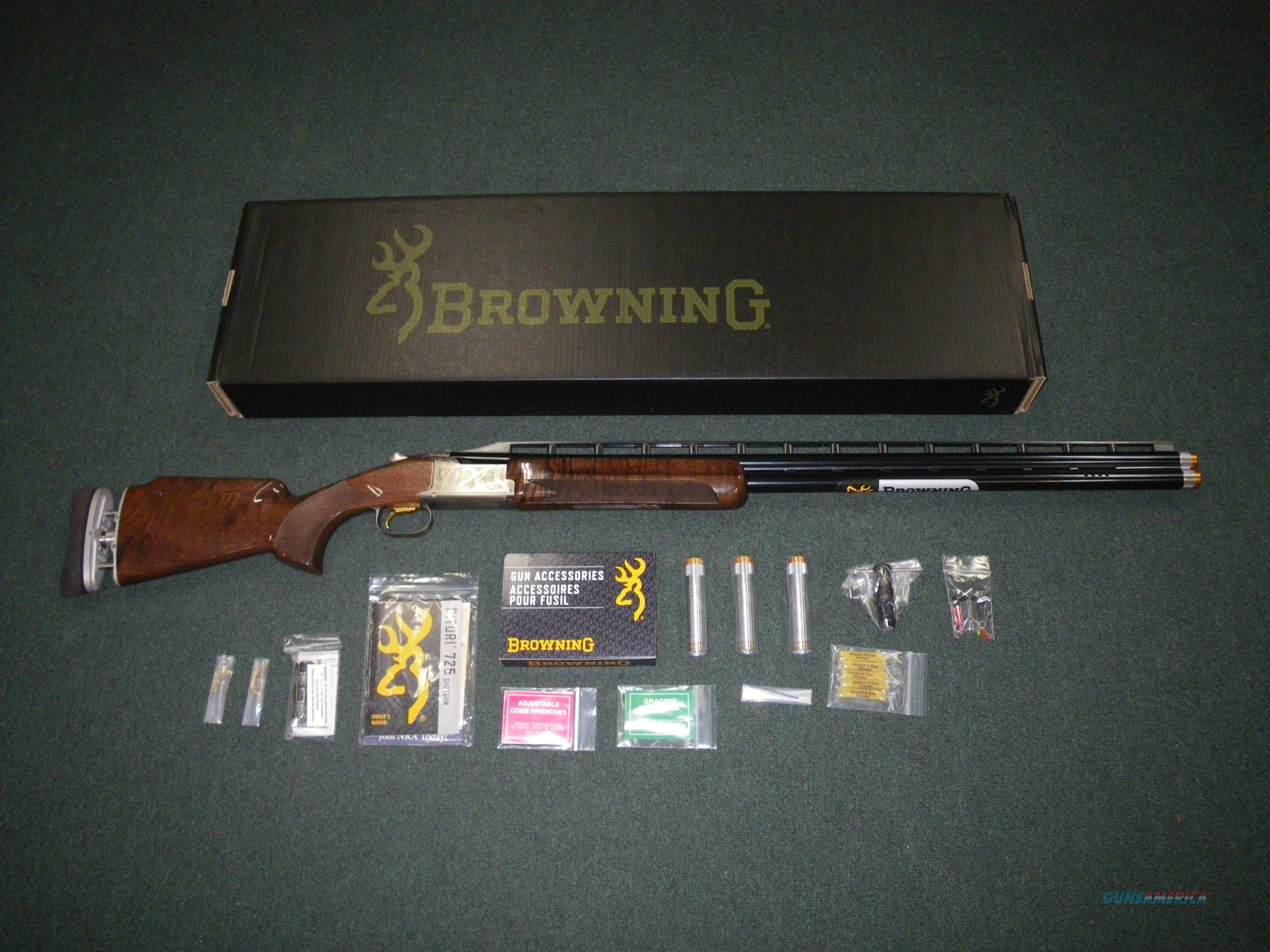 "Browning Citori 725 Trap Golden Clays 12ga 32"" NEW #0180804009  Guns > Shotguns > Browning Shotguns > Over Unders > Citori > Hunting"