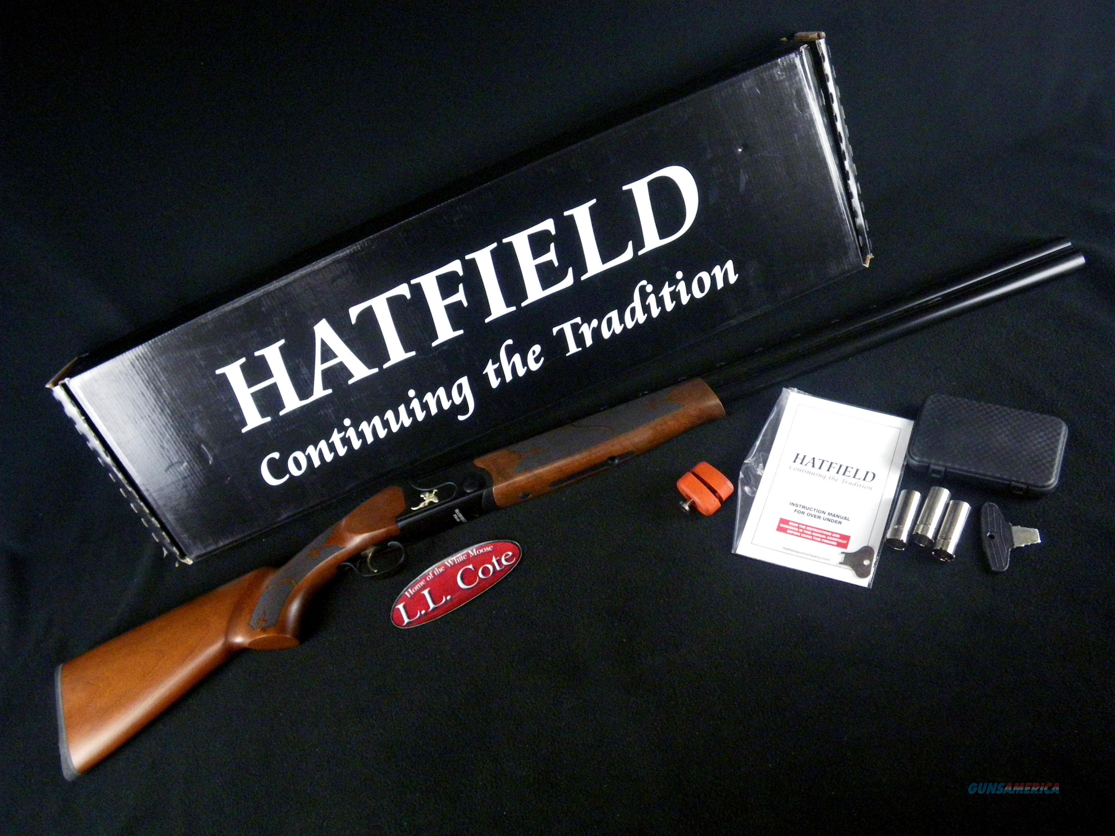 """Hatfield Field Over/Under 12ga 28"""" NEW 3"""" USF12W  Guns > Shotguns > H Misc Shotguns"""