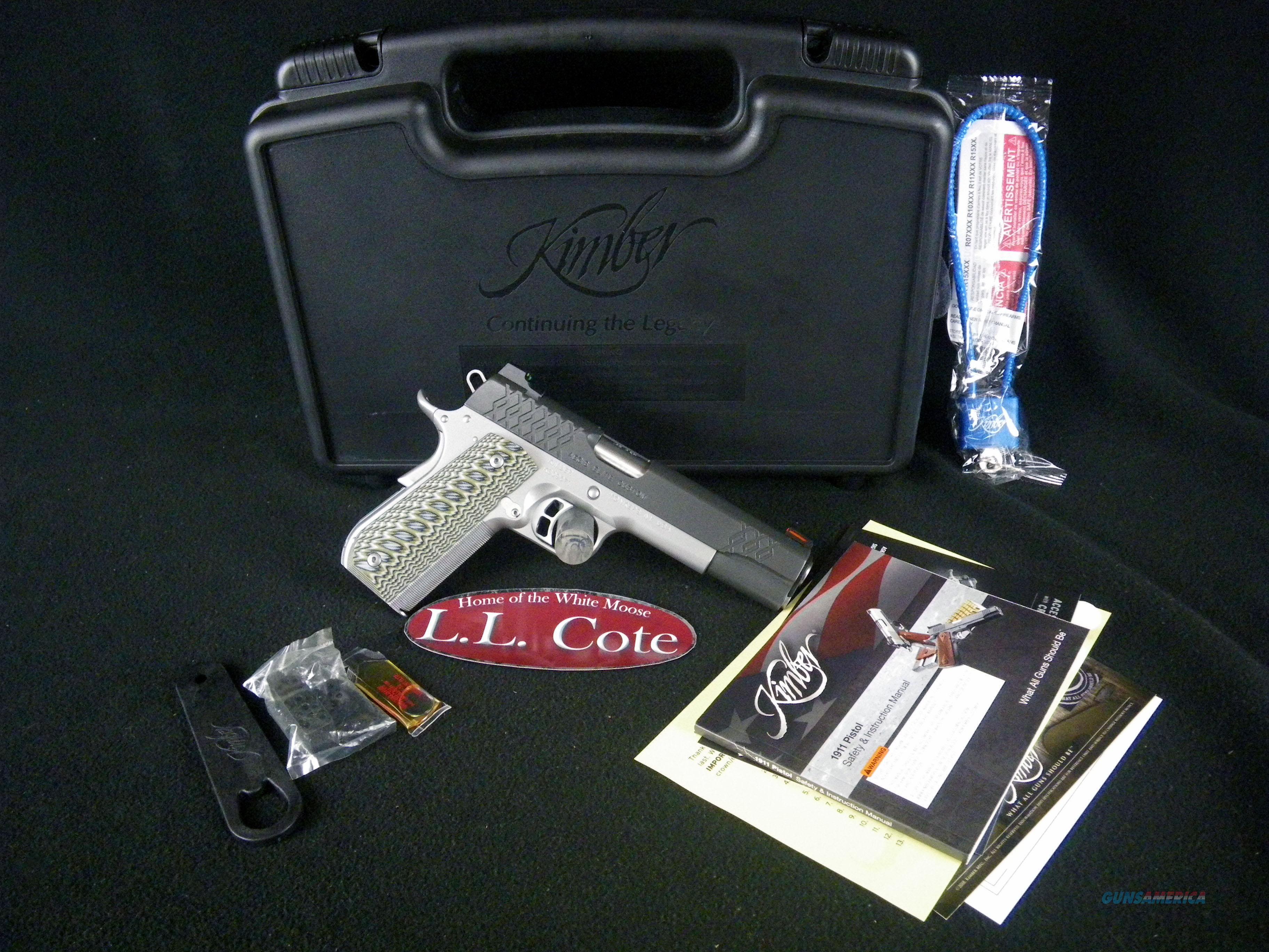 "Kimber Aegis Elite Custom 45ACP 5"" NEW 3000351  Guns > Pistols > Kimber of America Pistols > 1911"